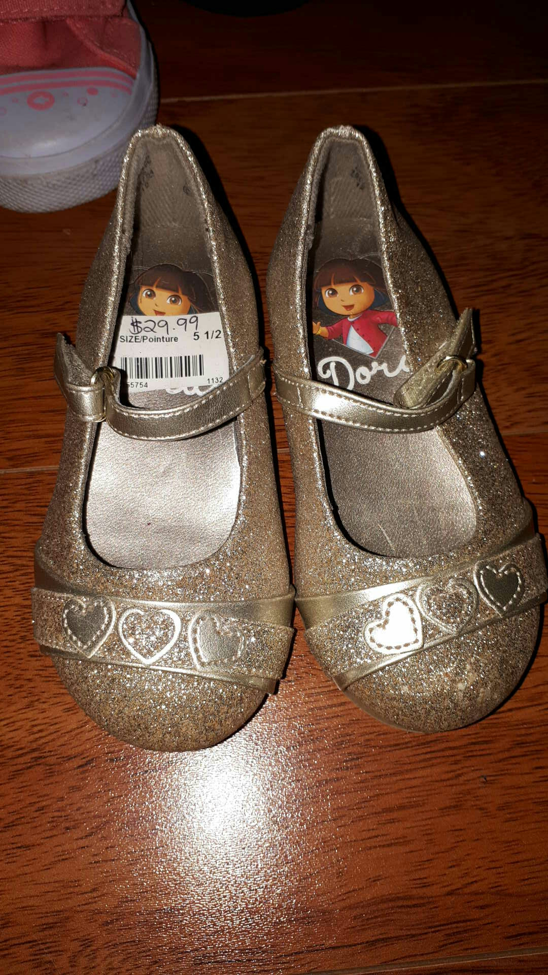 Toddler fancy shoes