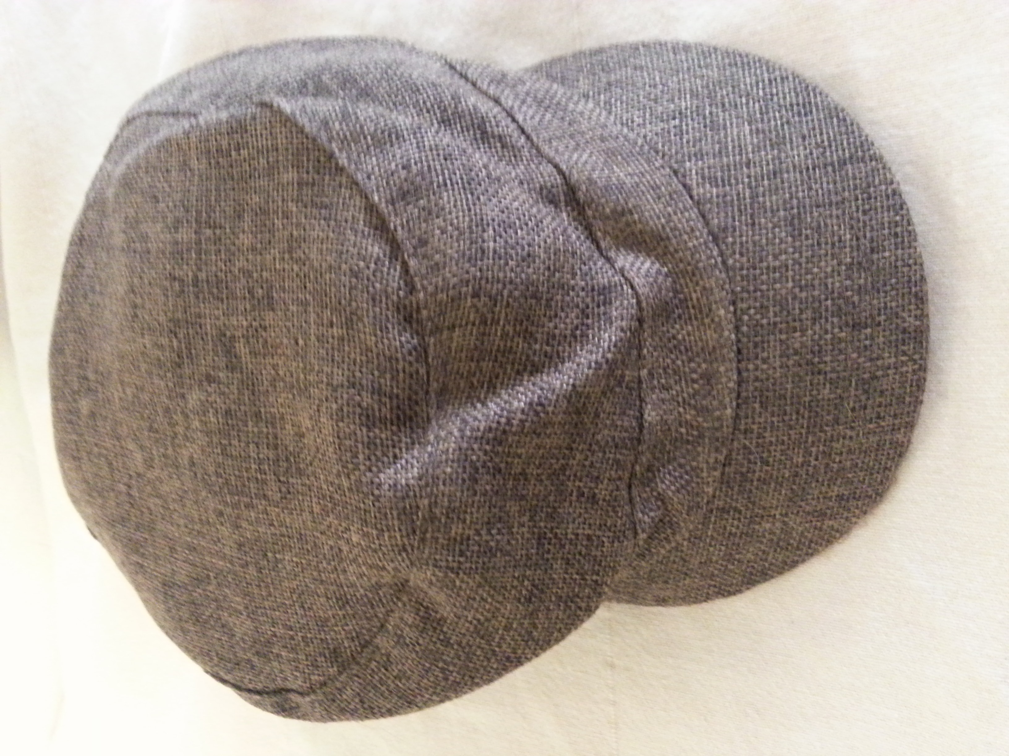 Target polyester hipster brown hat onesize