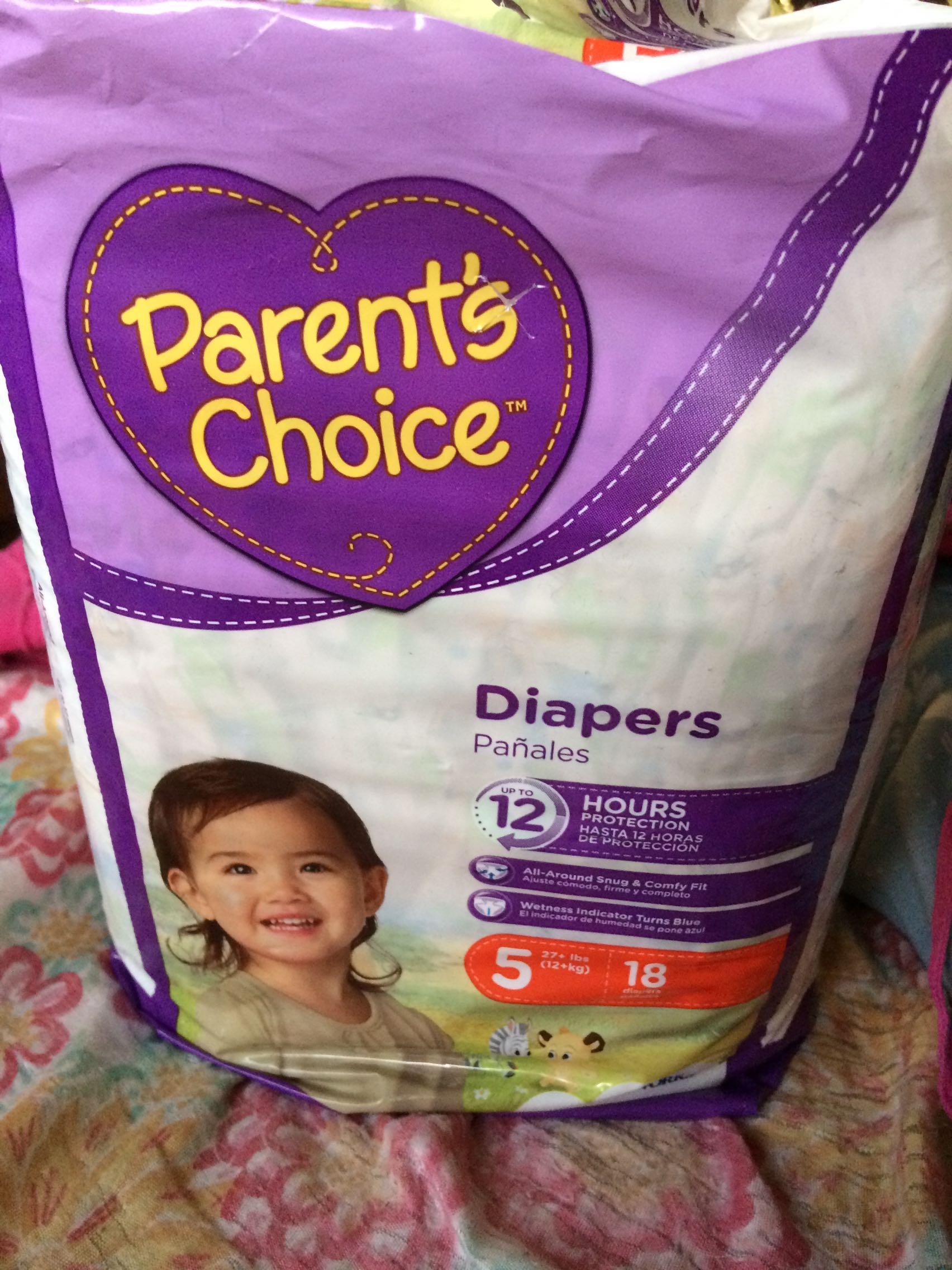 Parents choice size 5