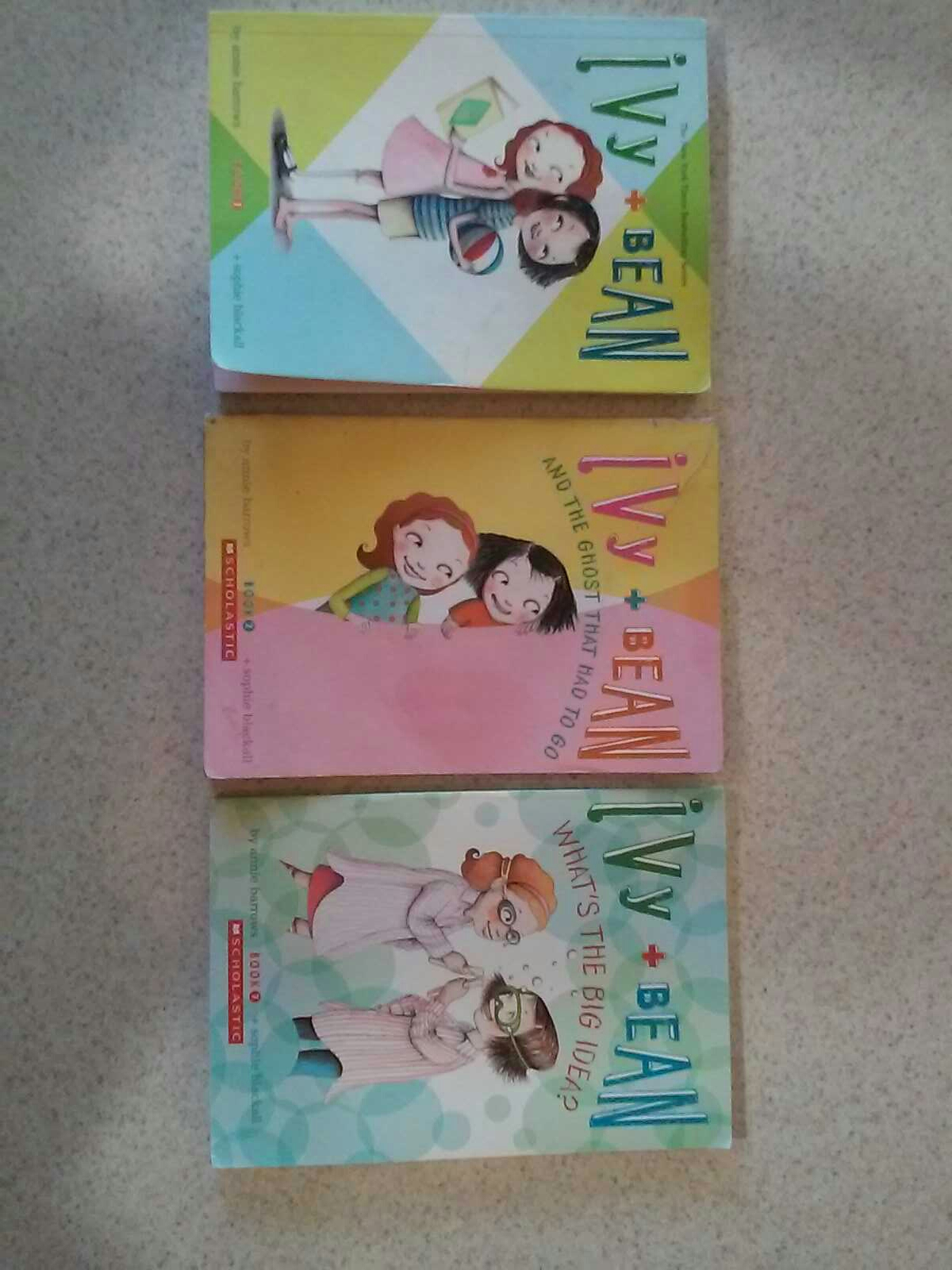 Ivy + BEAN Books Set of 3 for $5.00