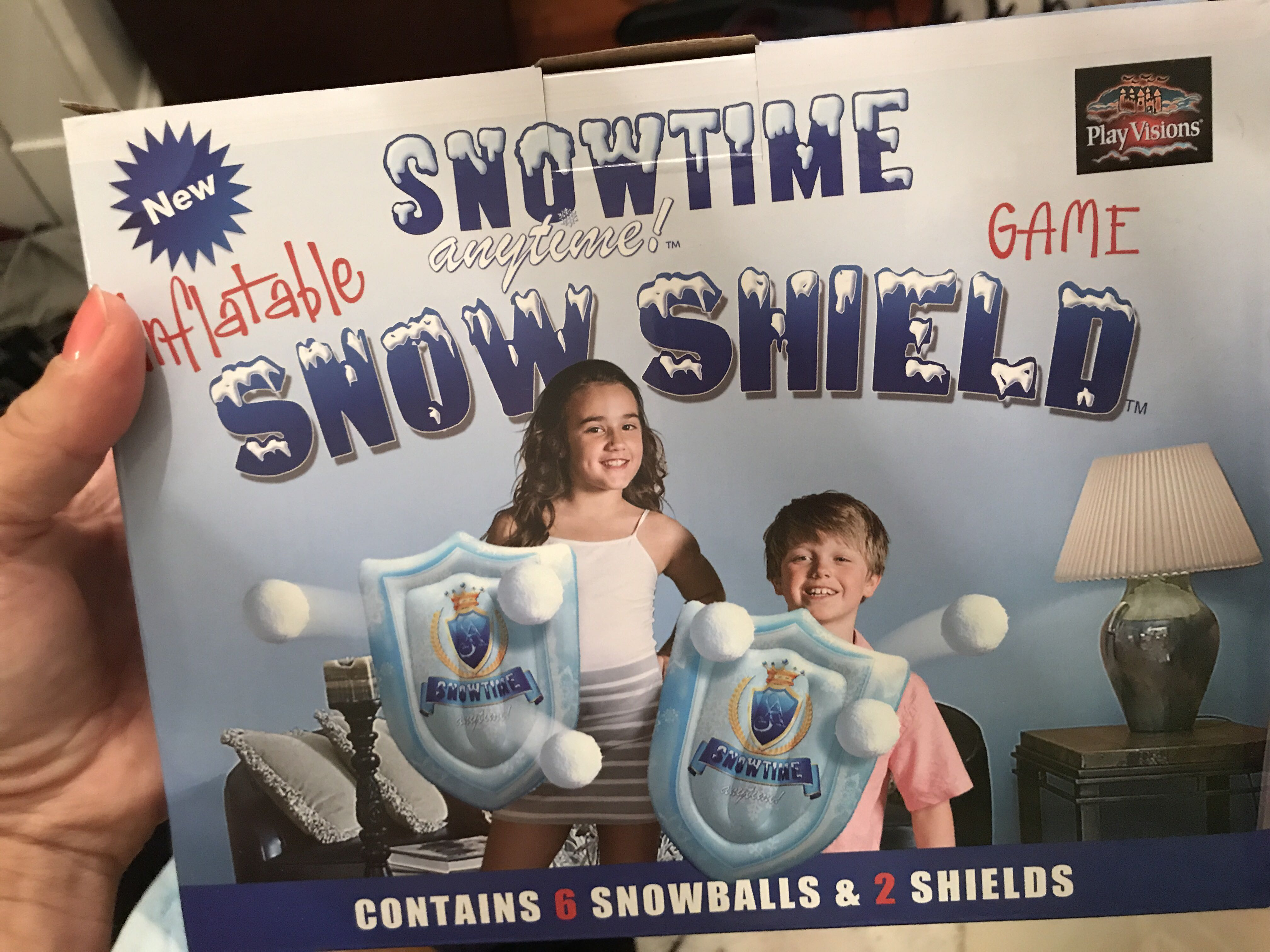 Snow Shield game with 30 extra snowballs ... sold as set ... $20 (over $50 new)