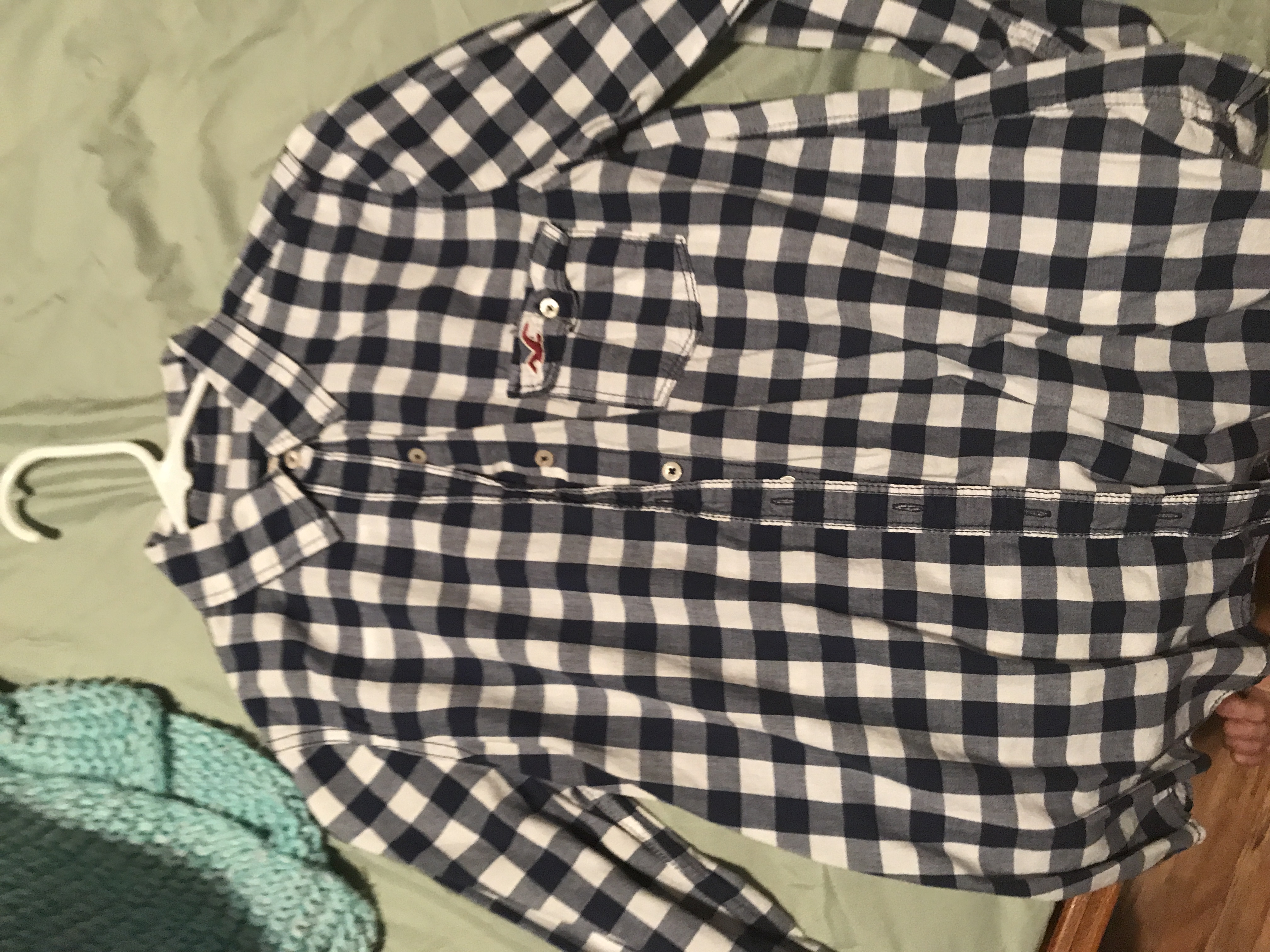 Cute Button Down from Hollister Size M