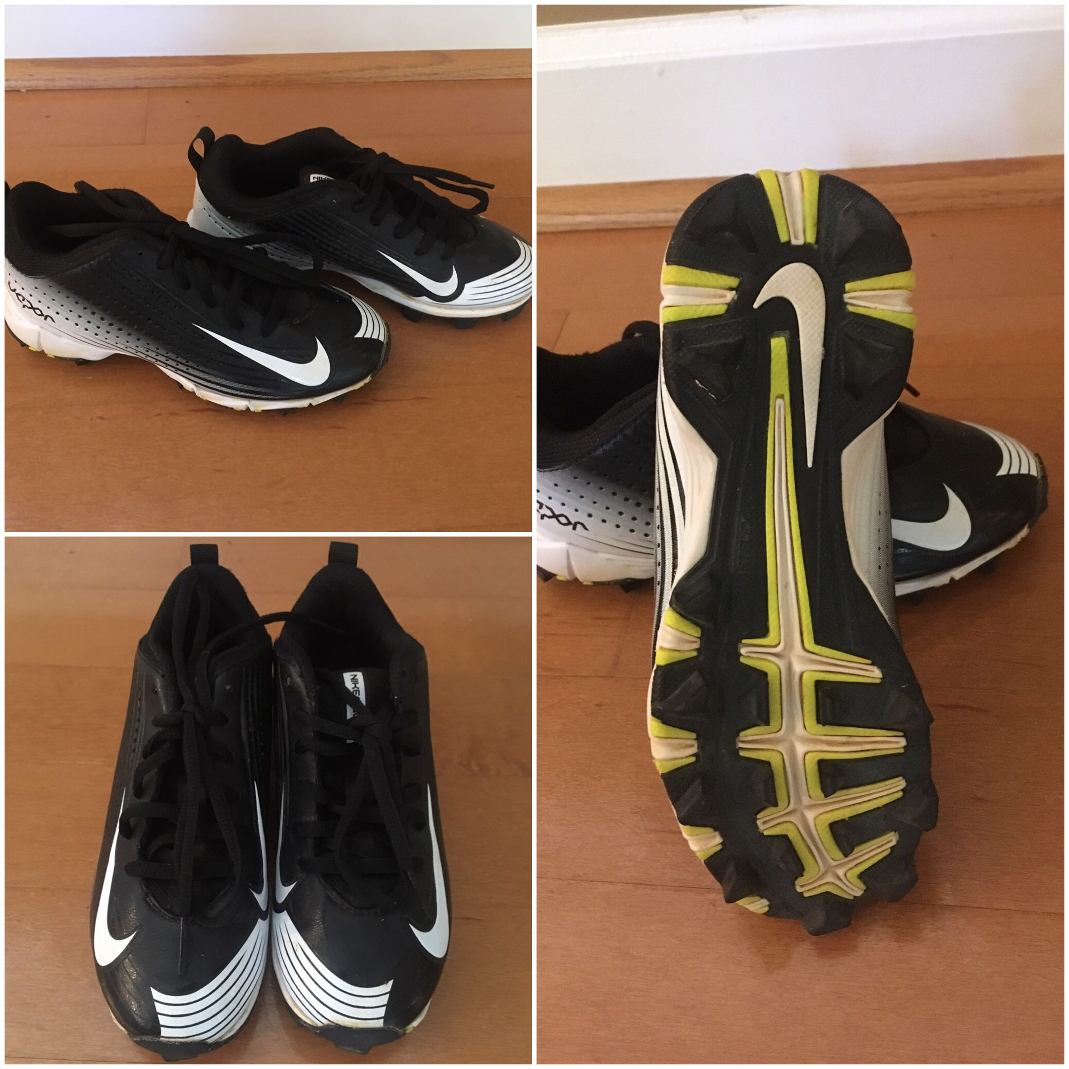 Nike Vapor Boys Baseball Cleats - size 13C
