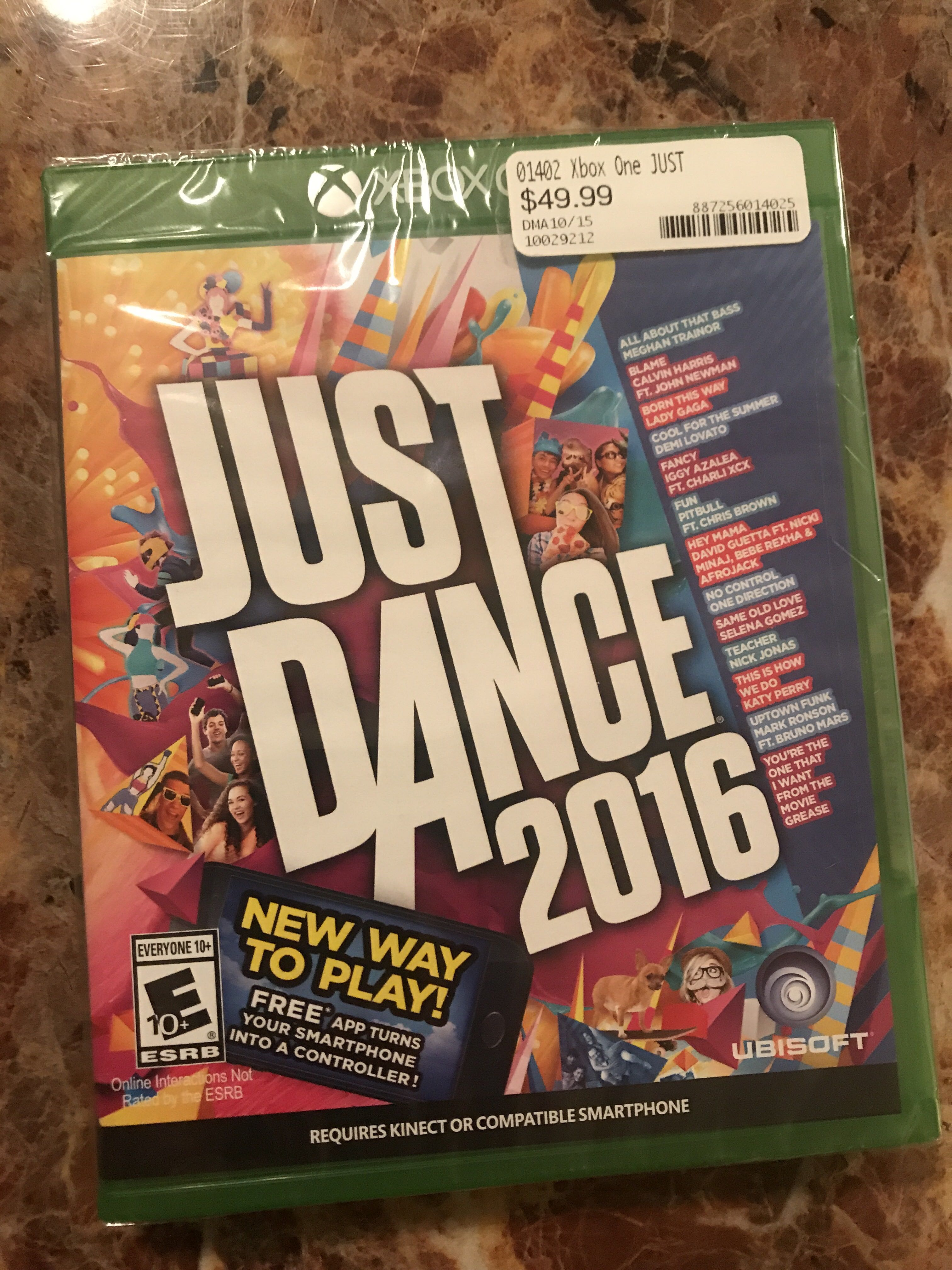 X-Box One Just Dance 2016 Game