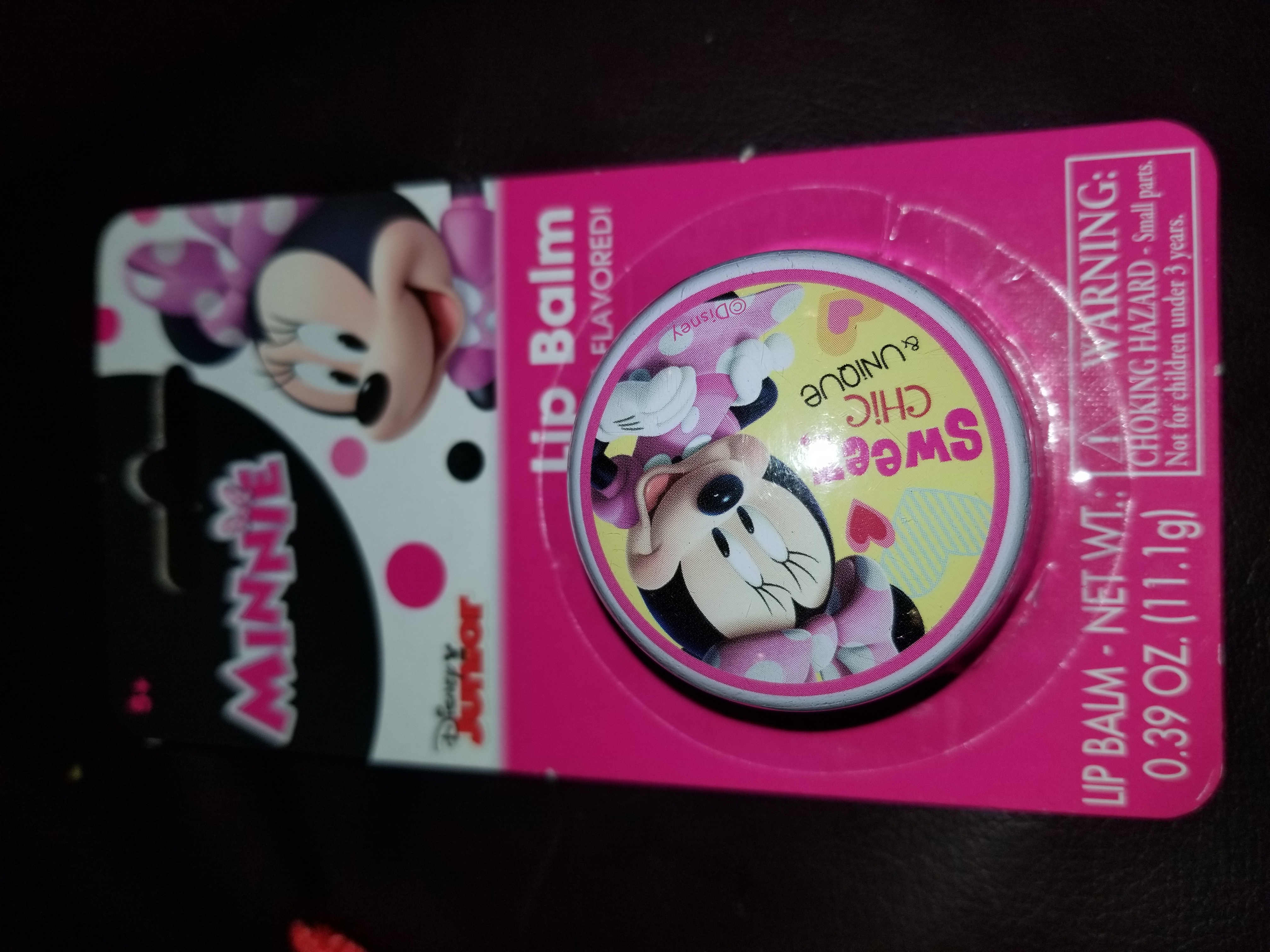 Minnie mouse lip balm