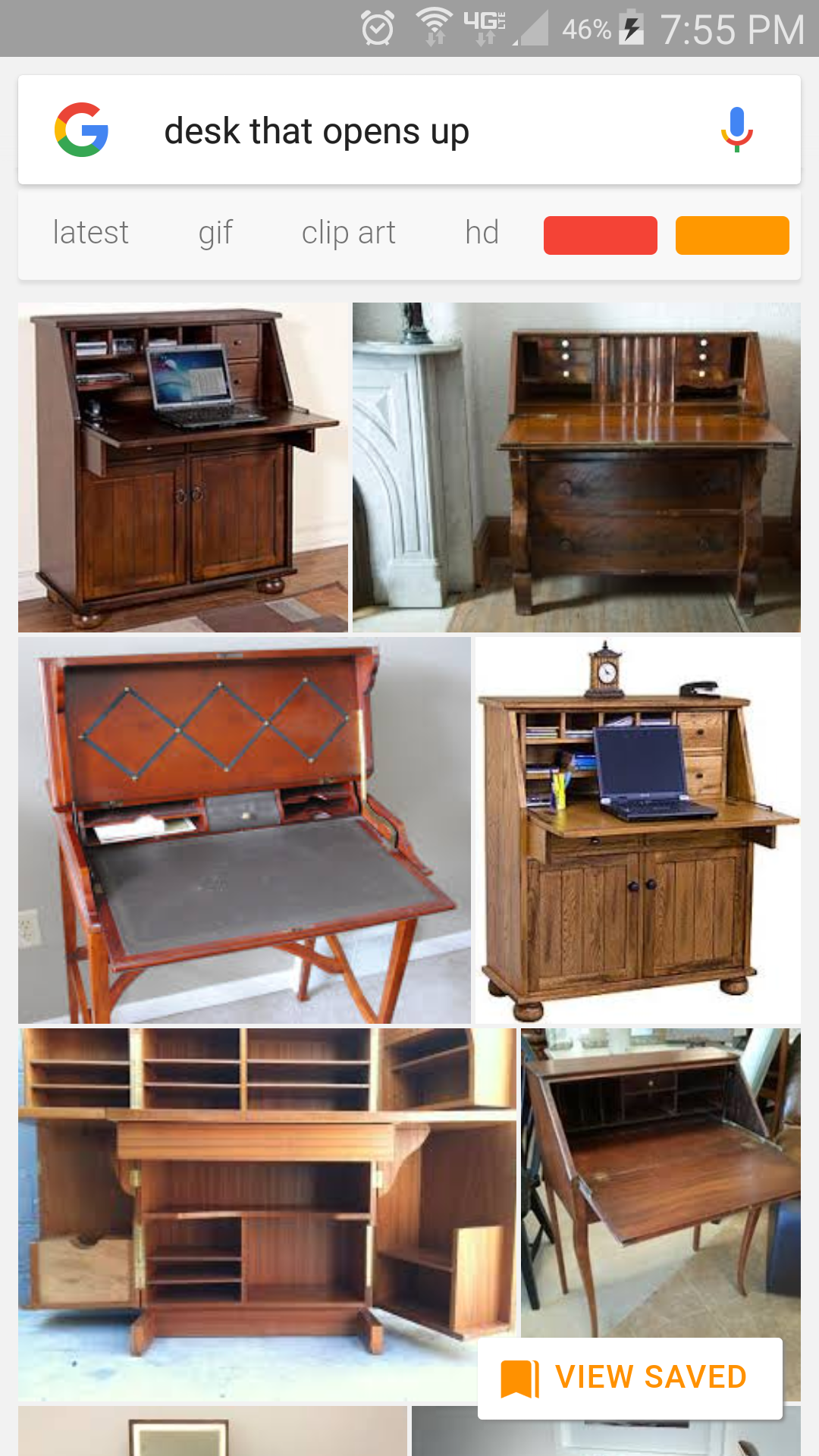 Iso don't know the word for them but a desk that opens up!
