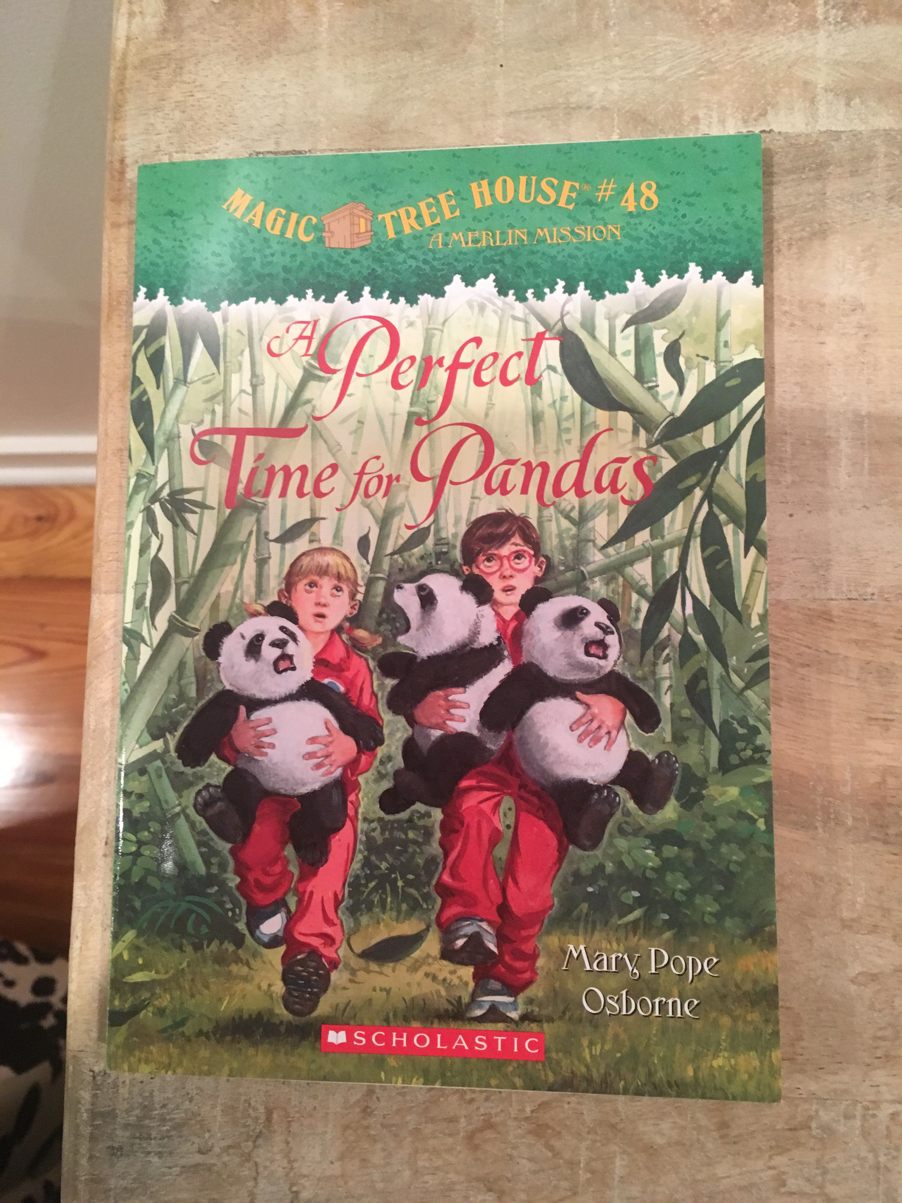 """Magic Tree House #48 - A Perfect Time for Pandas"" paperback"