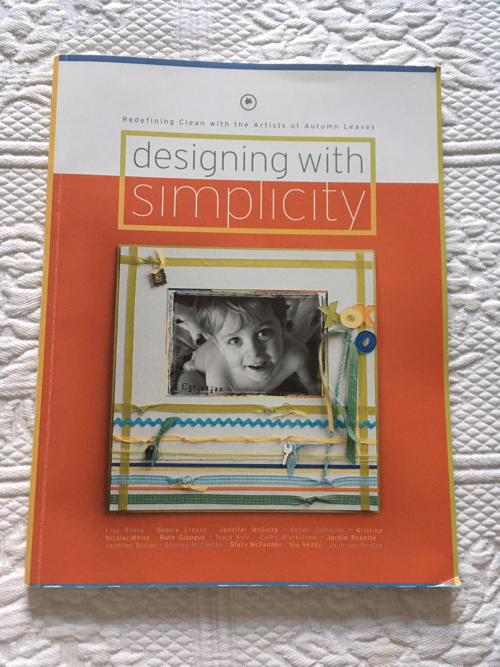 Scrap booking idea book