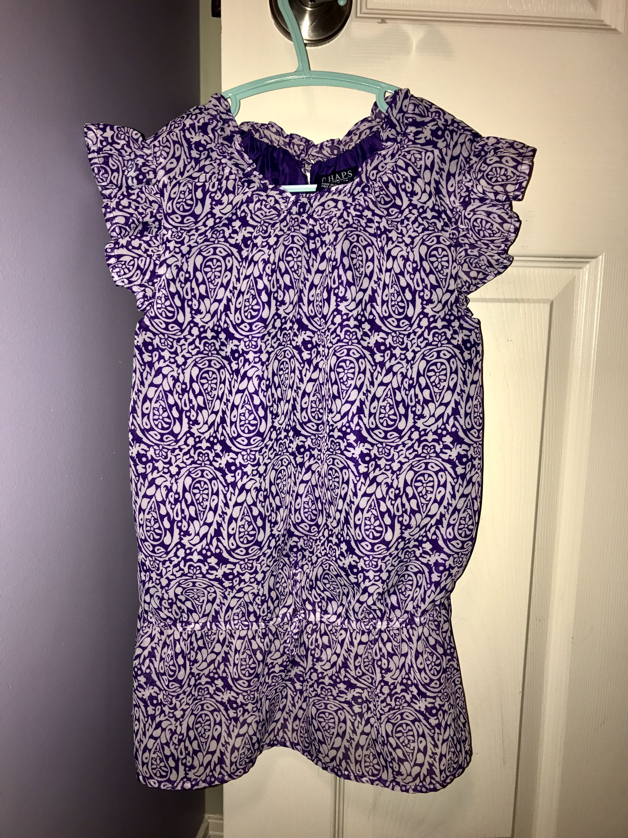 Gorgeous Tunic Top- Girls Size 7 - perfect condition -$7