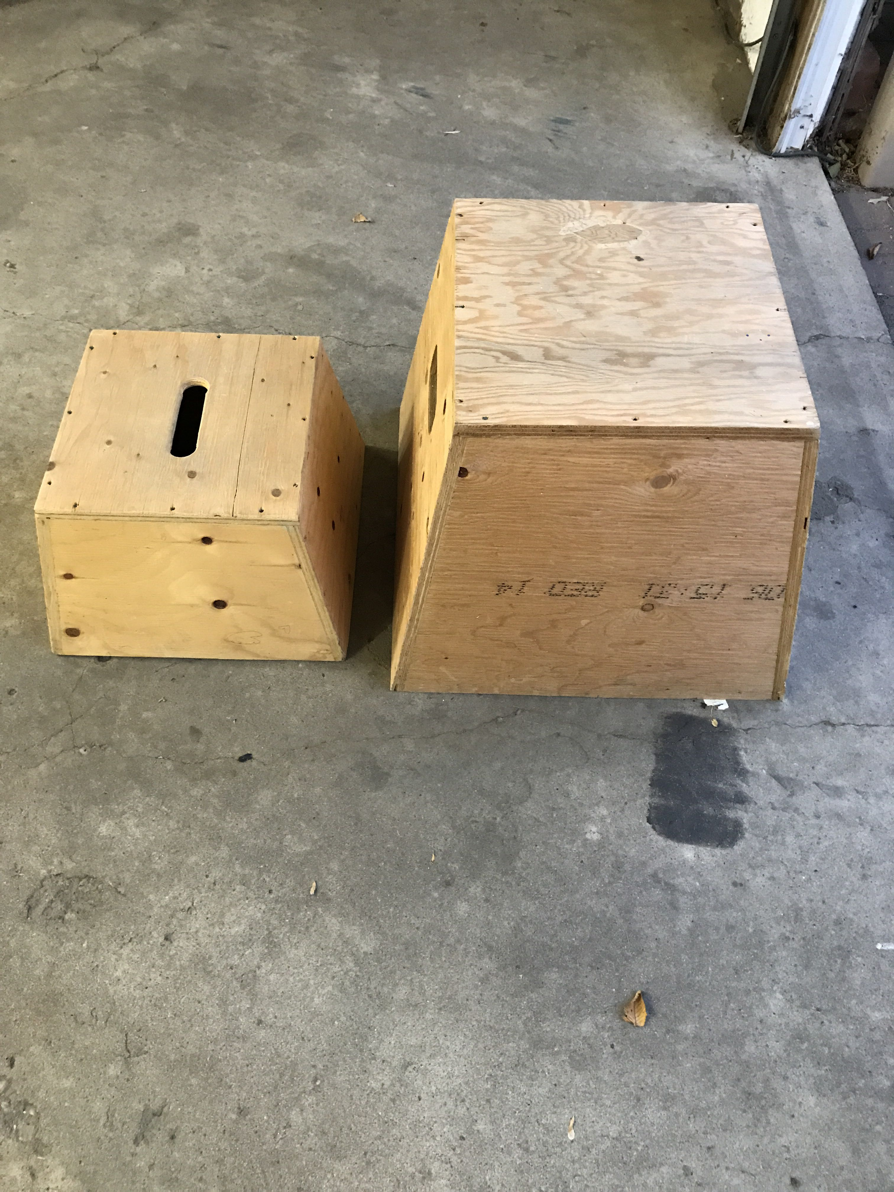 Step boxes
