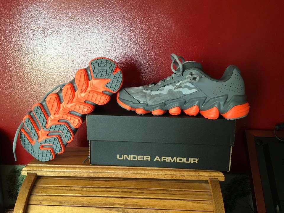 New Under Armour Youth Shoes