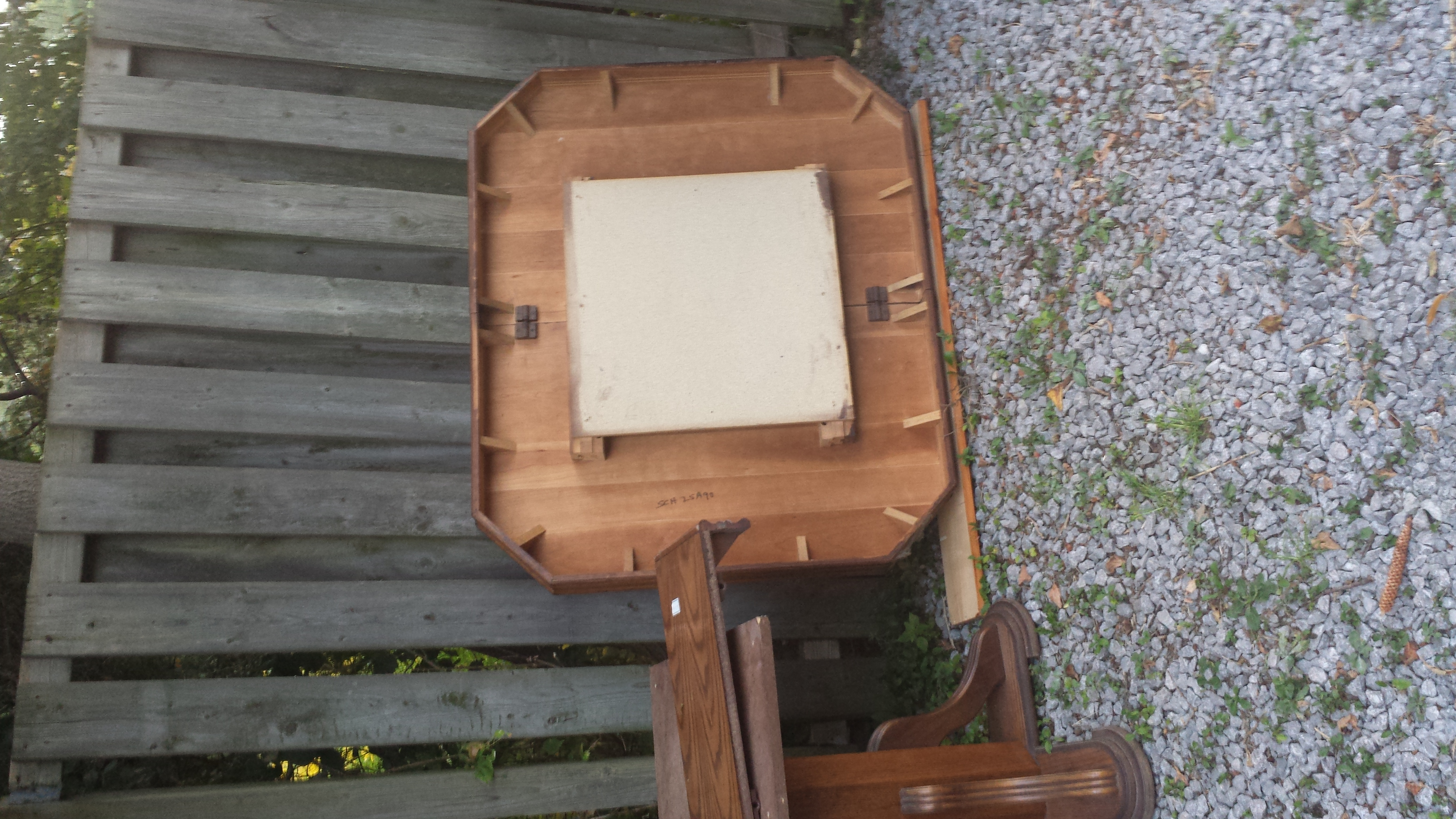 Large solid wood table - need gone ASAP