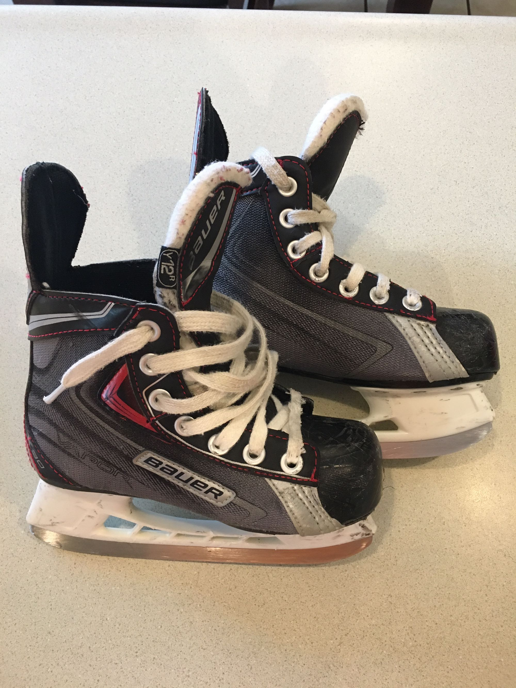Bauer hockey skates, boys size 12, Marysville swap, $5.