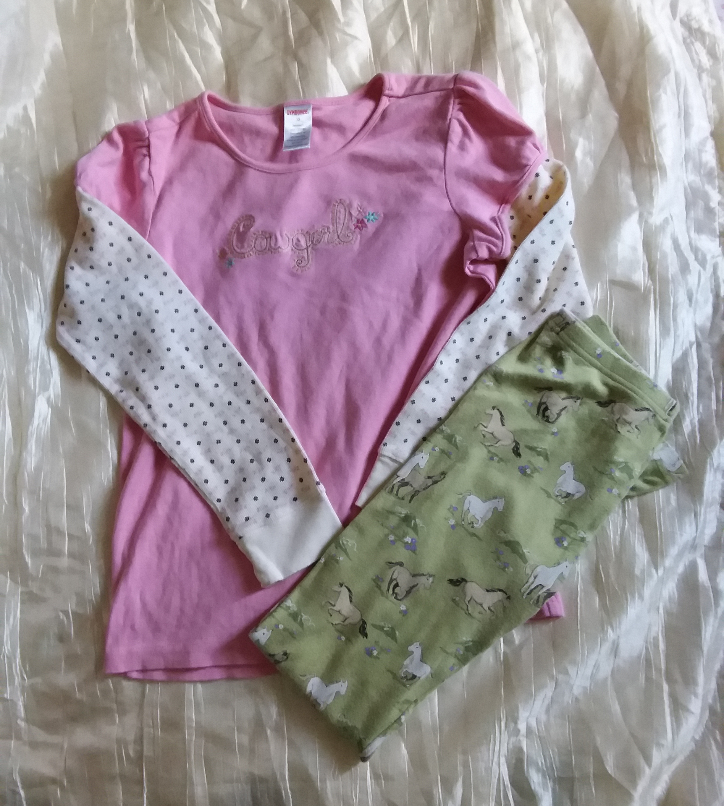 Gymboree 10 Horse Lot x 2 Items