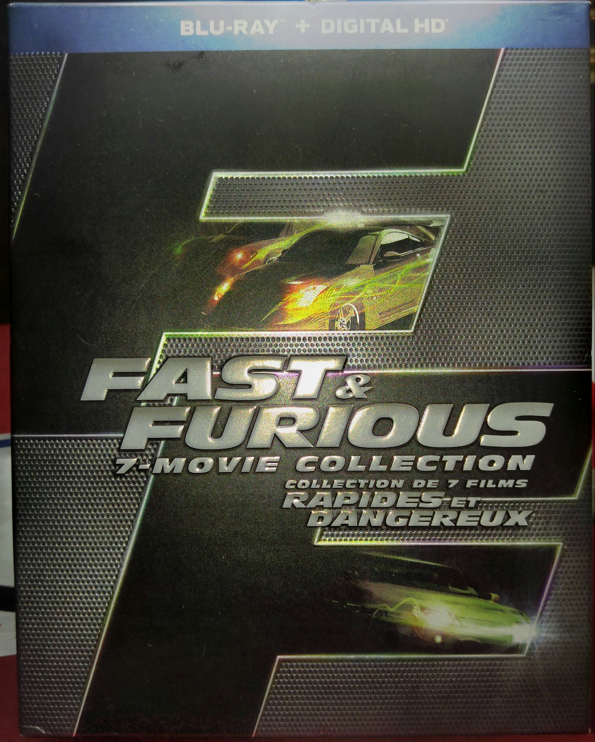 7 - movie collection Fast & Furious