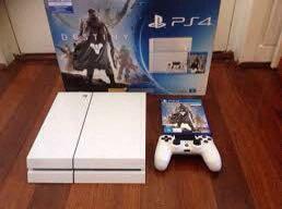 Sony ps4 glacier white 500gb