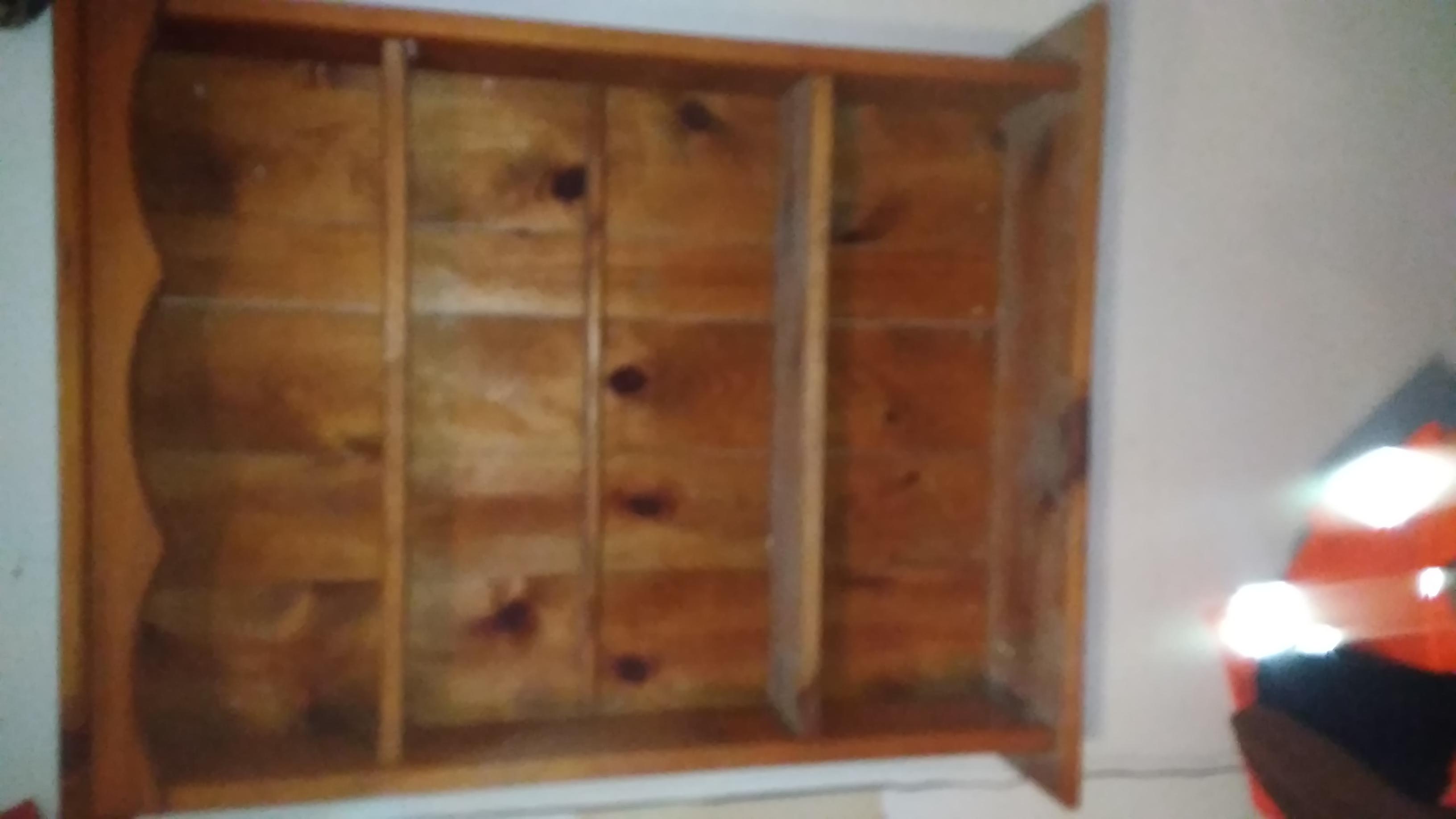 Shelf with light