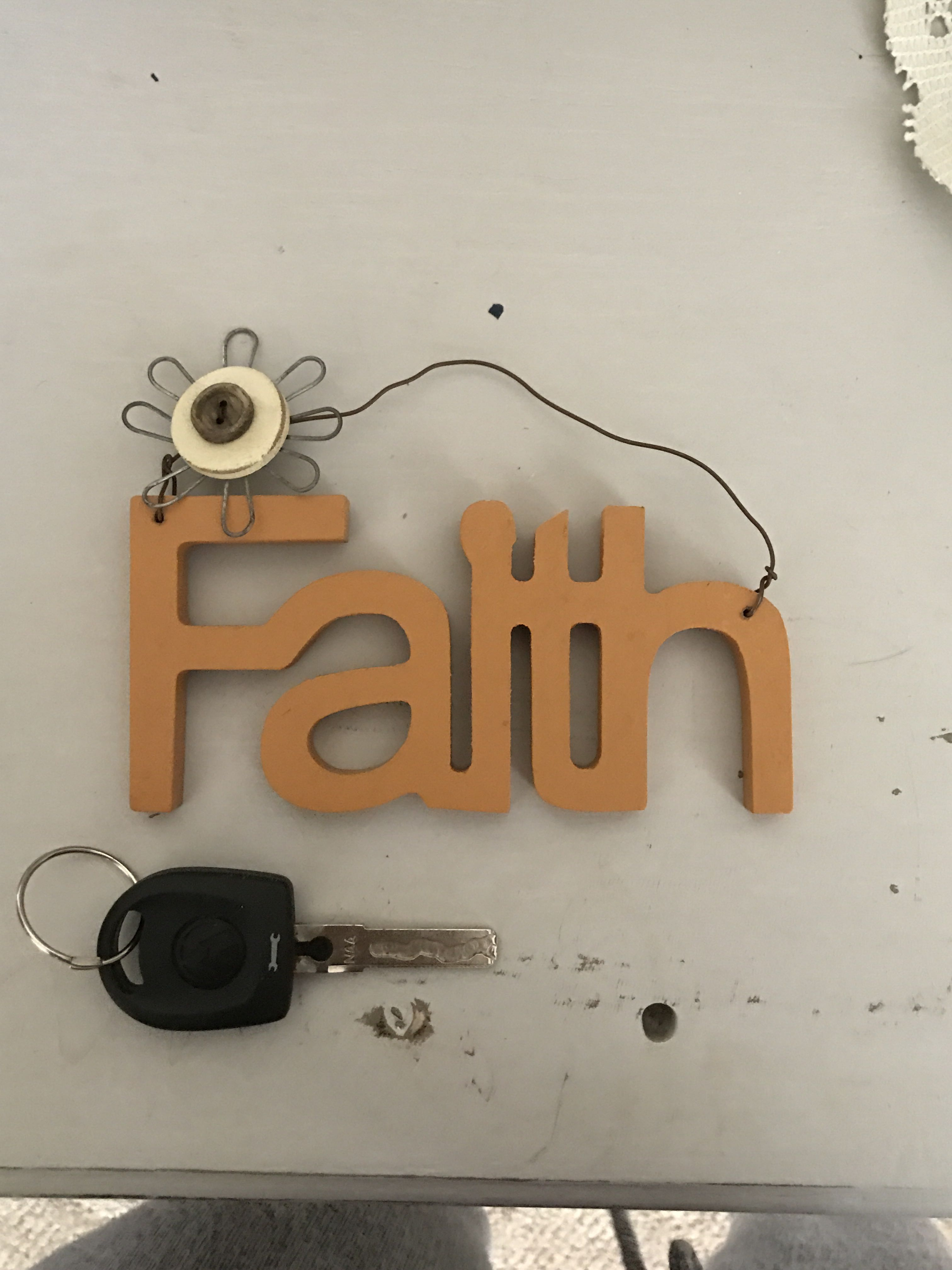 Cute Wooden sign