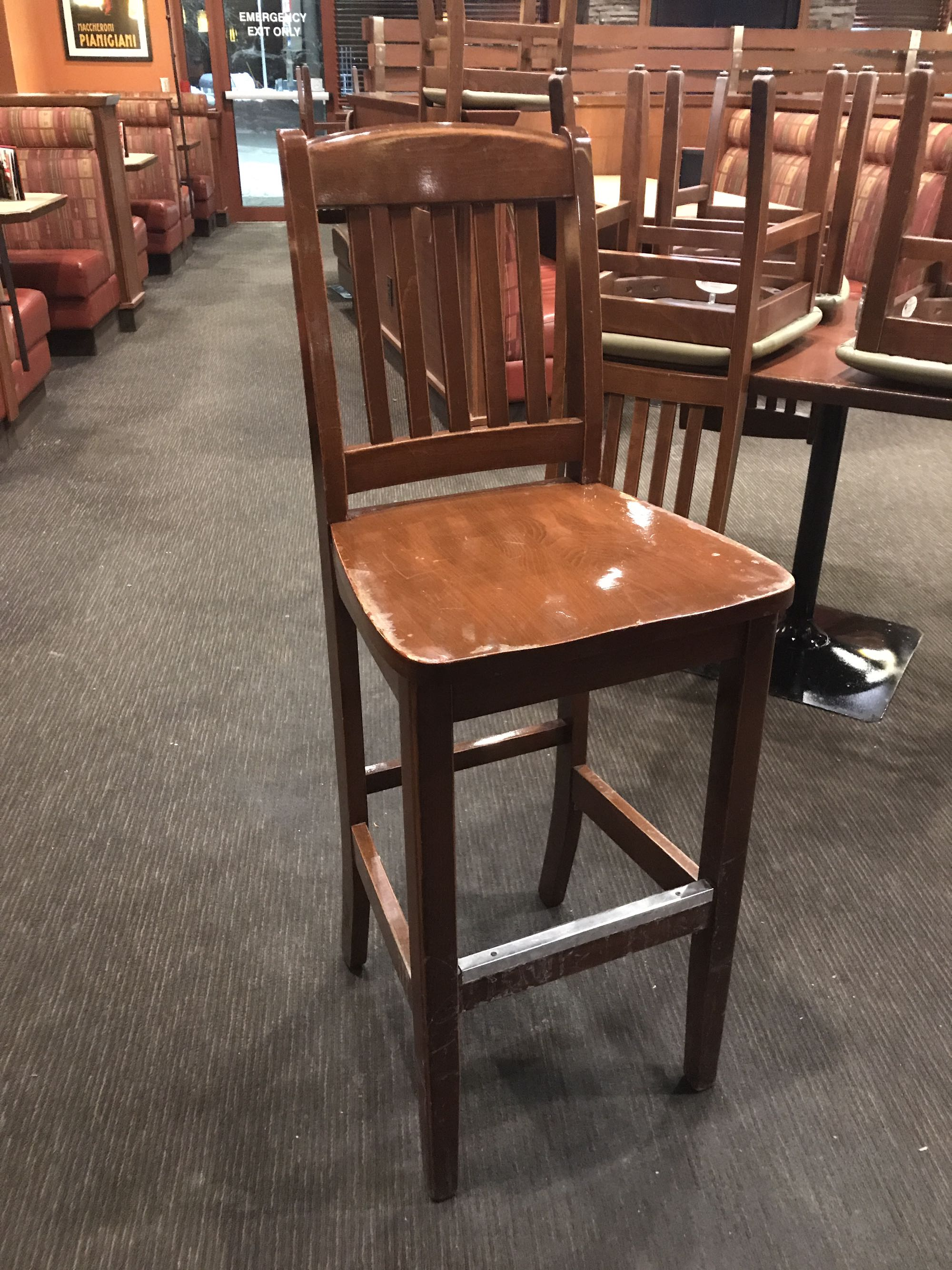 High top bar chairs