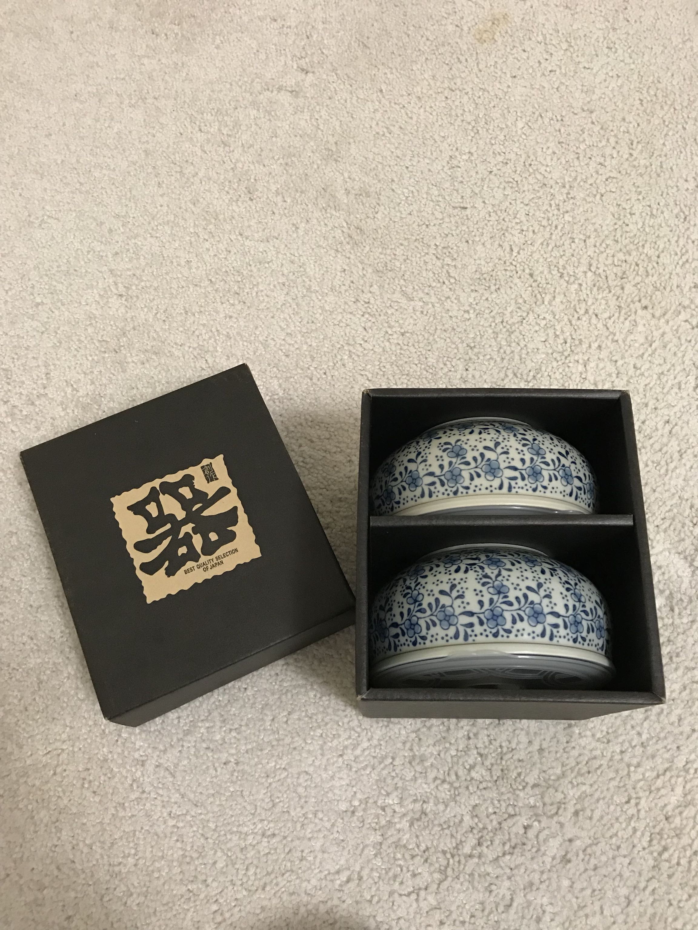 Japanese Bowl Set