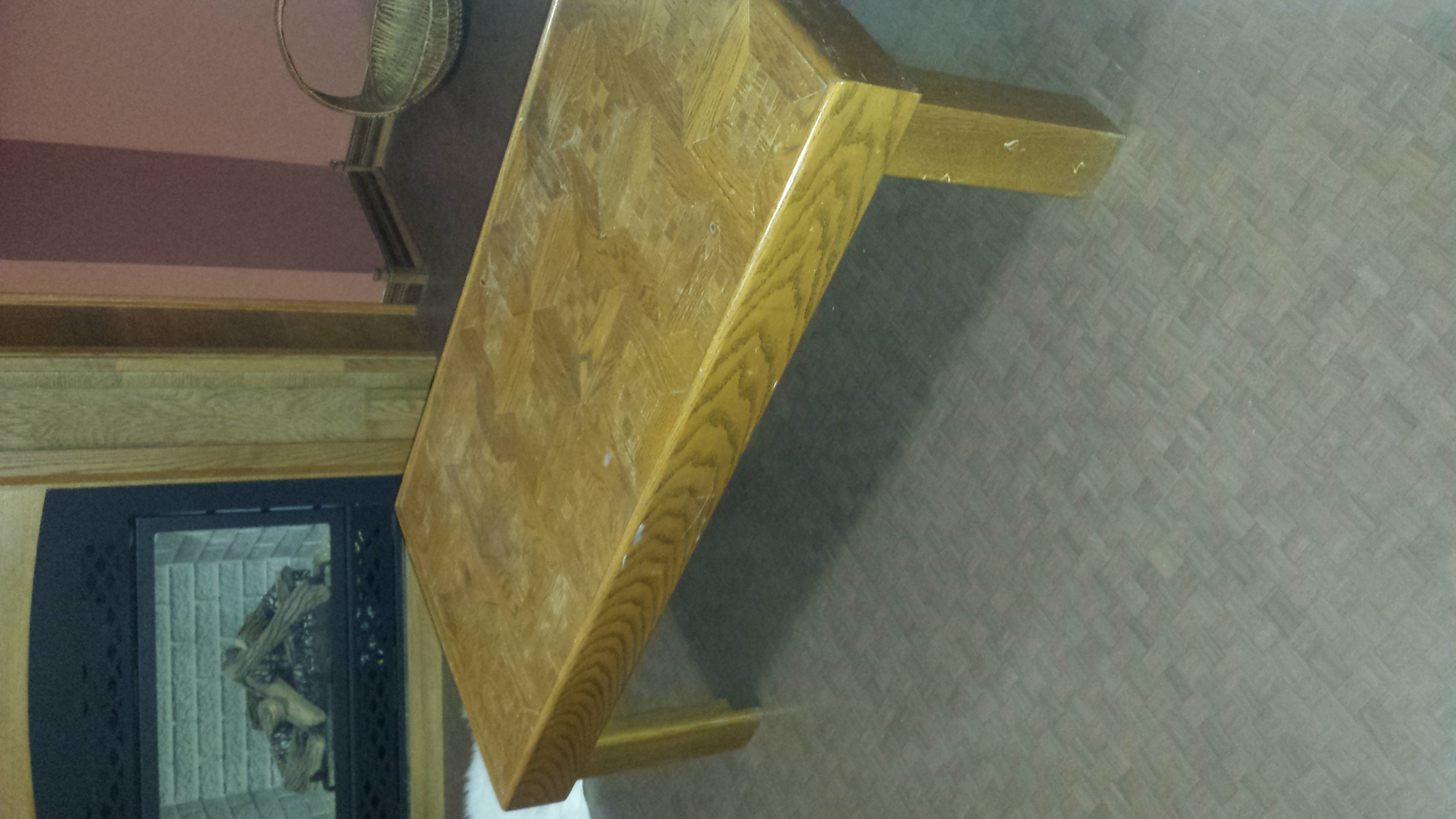 Coffee Table (Wood)