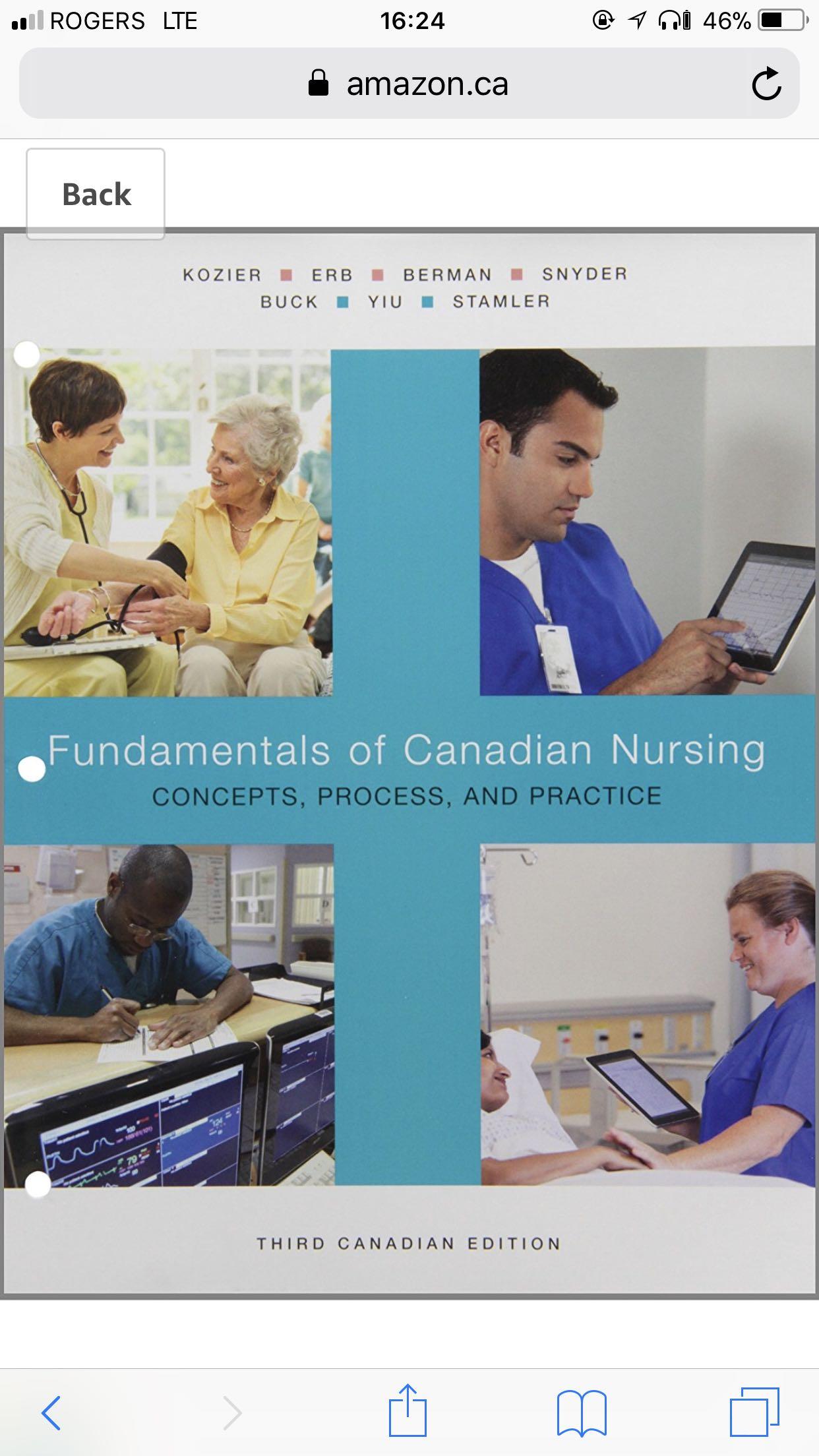 Fundamentals of Canadian Nursing 3rd Canadian Edition
