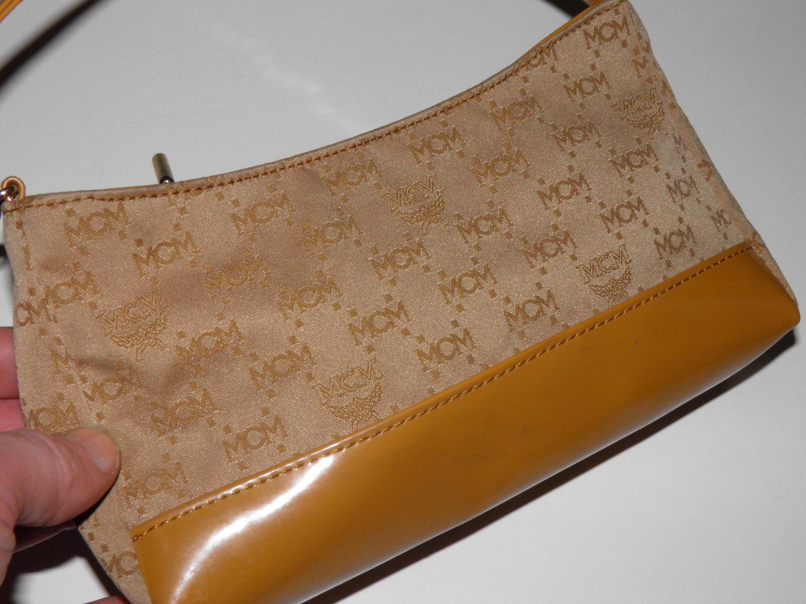 MCM makeup pouch