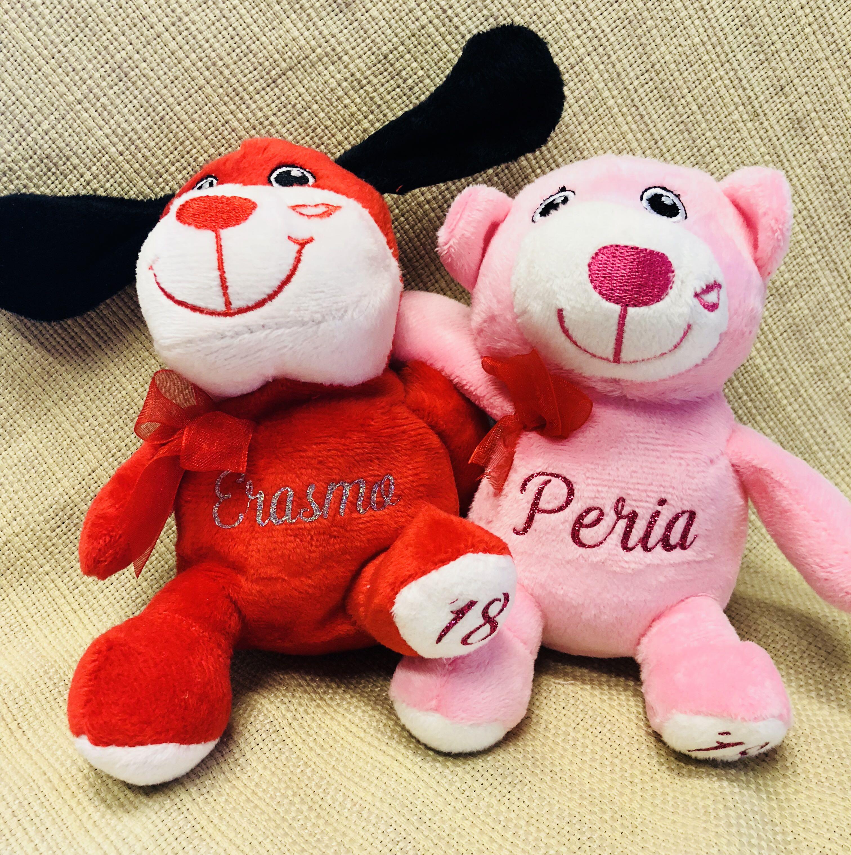 Valentine's Stuffed Animals (custom made)