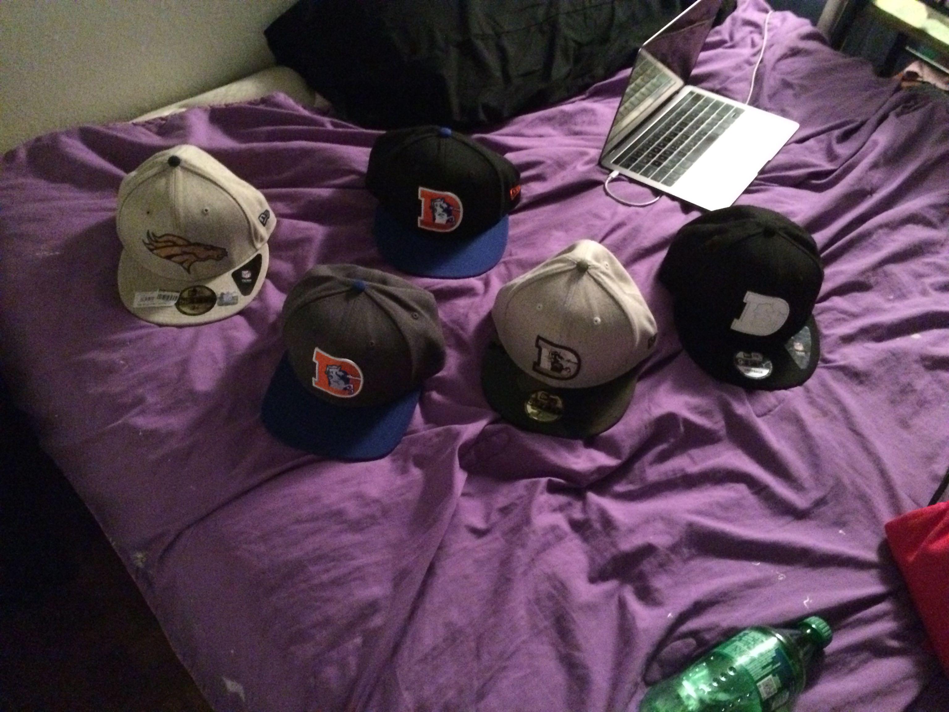 Bronco hats