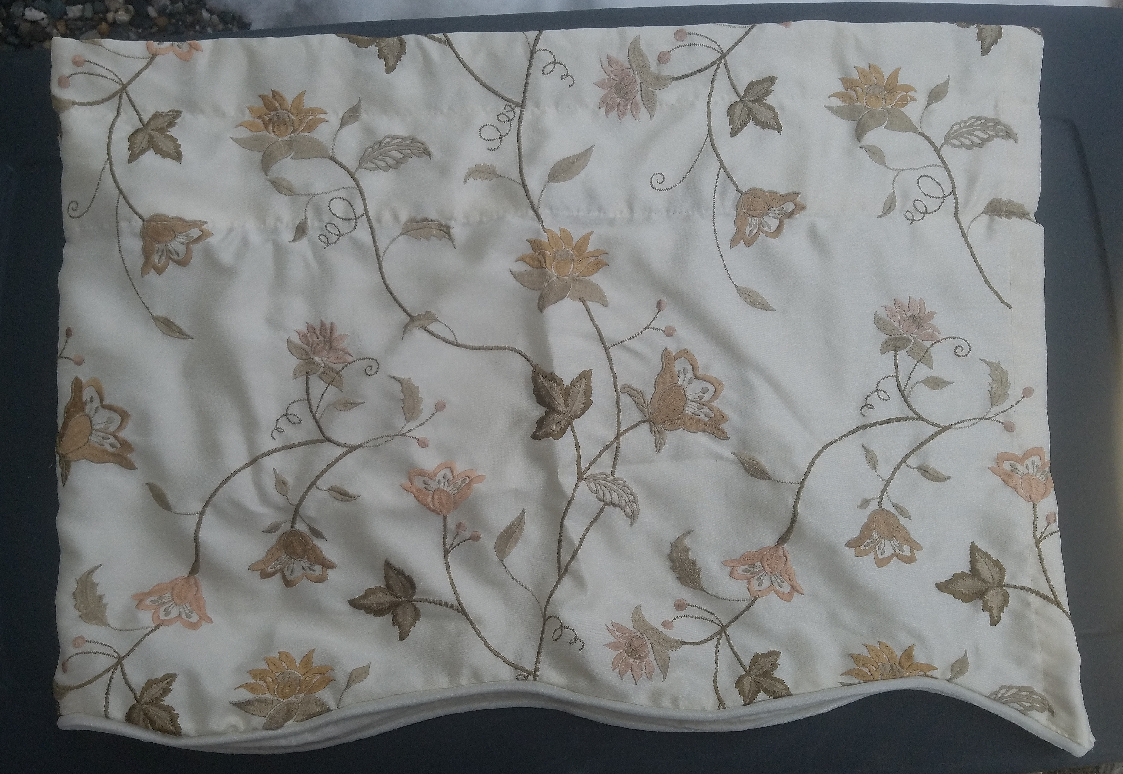 Beautiful Floral Valance