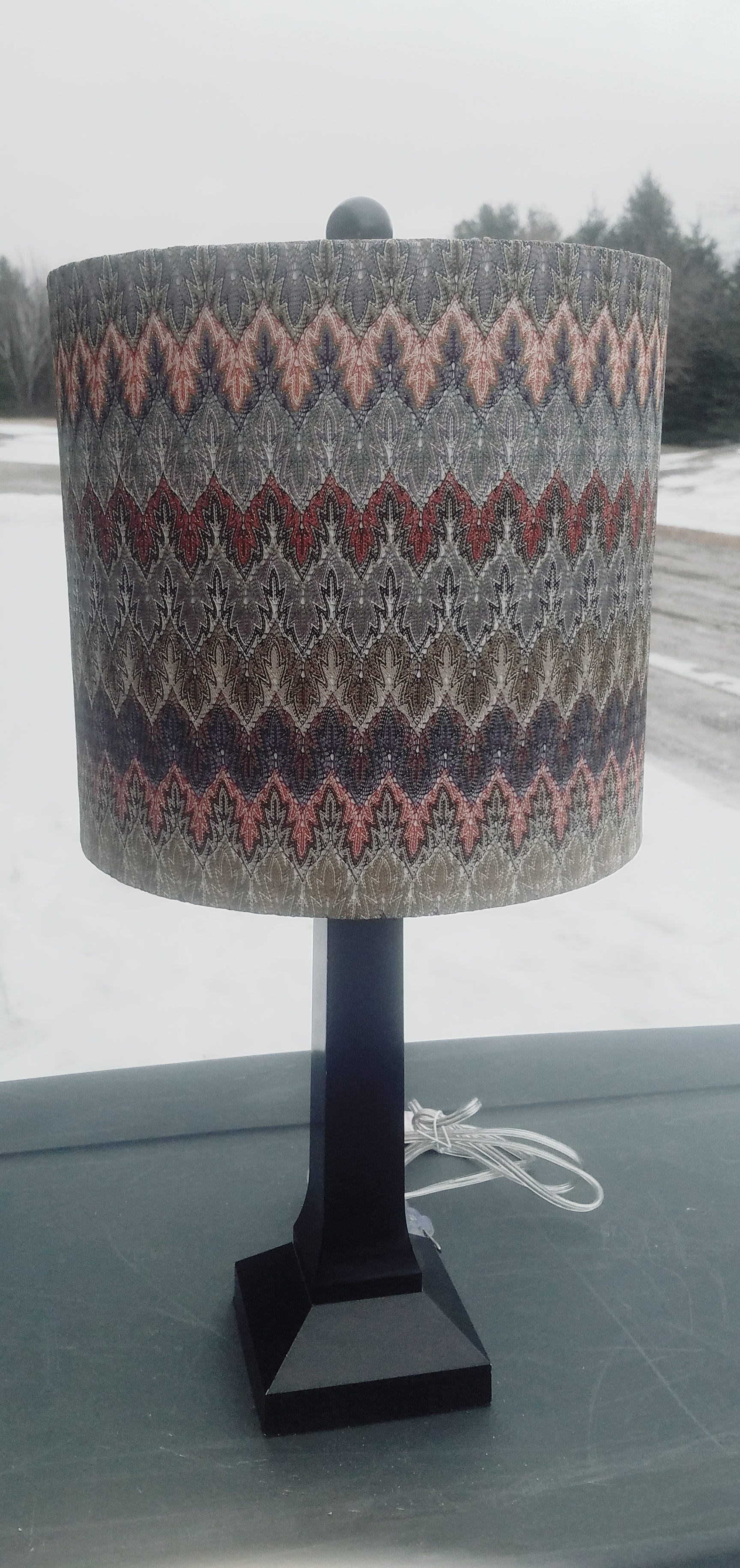Colorful Boho Table Lamp