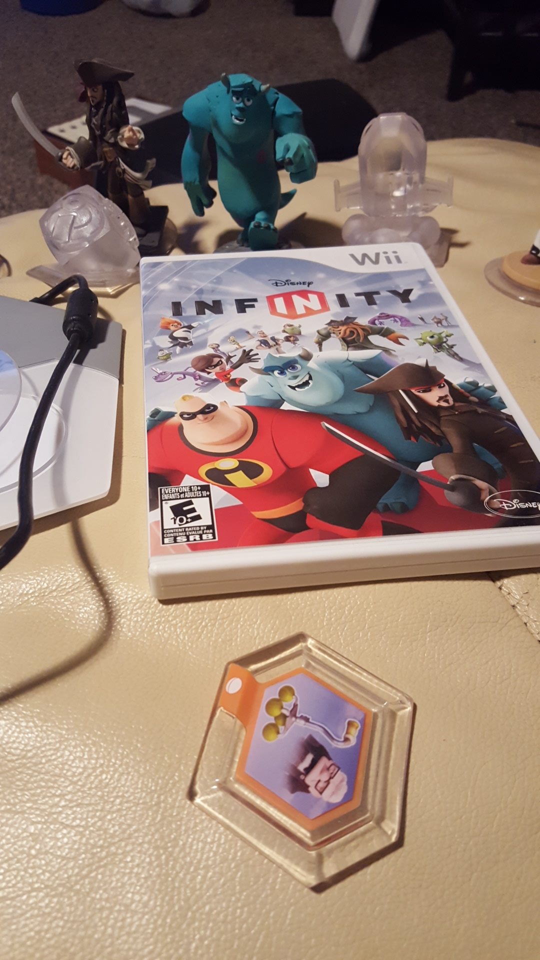 Disney infinity game and characters
