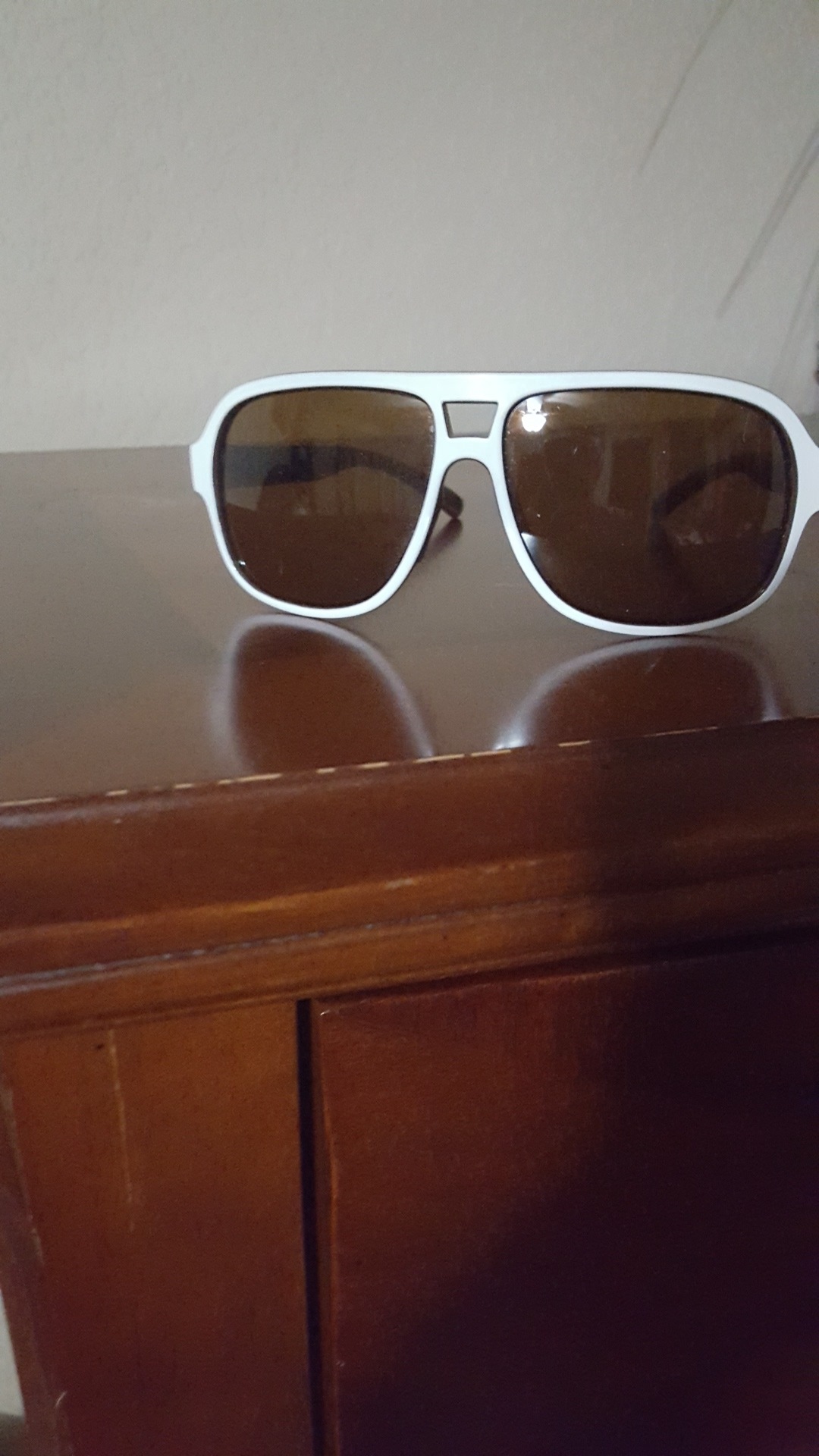 Ryders Eyewear Pint White With Brown R579-003 Brown Lens Sunglasses