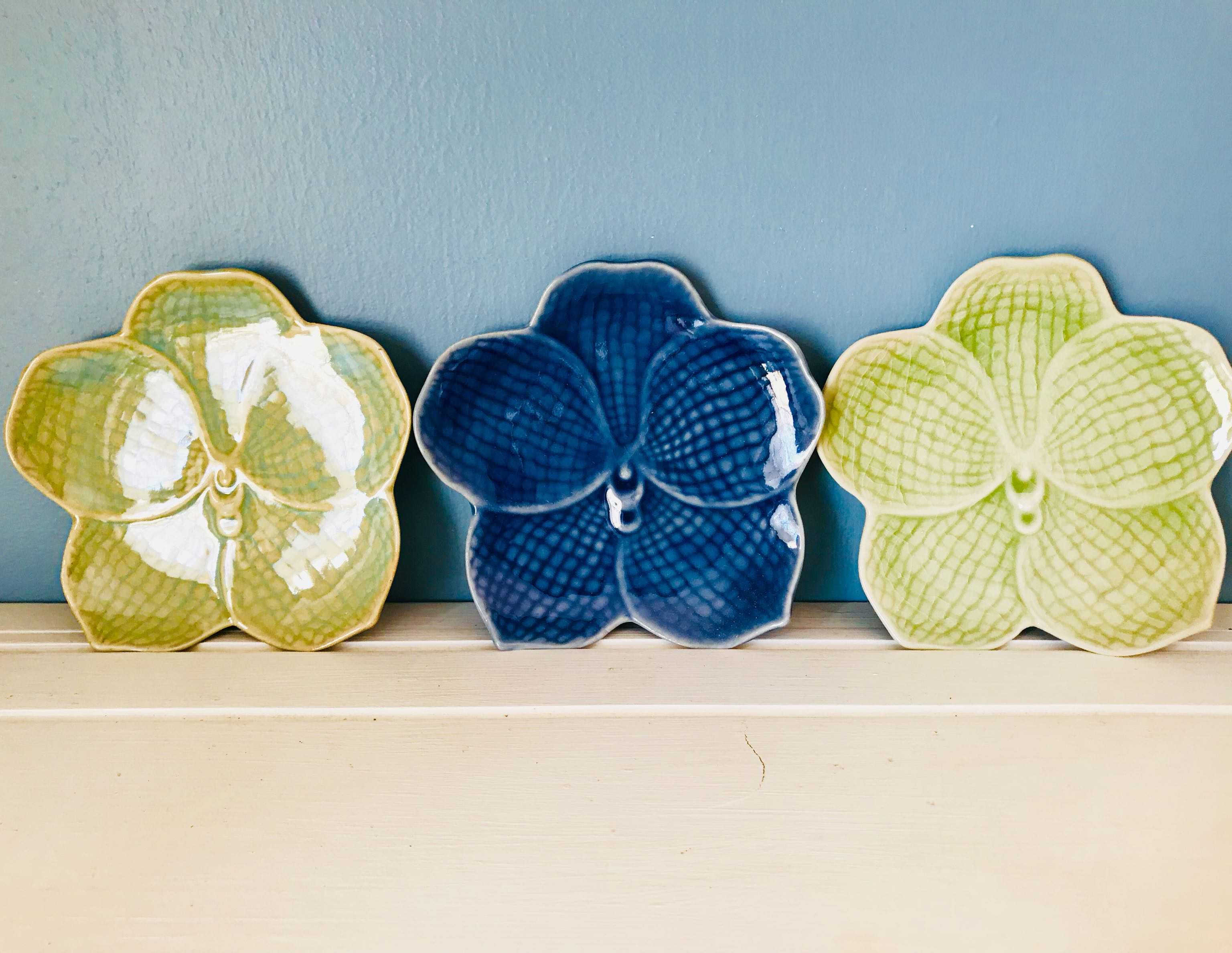 Anthropologie Decorative Small Plates ~Cross Posted