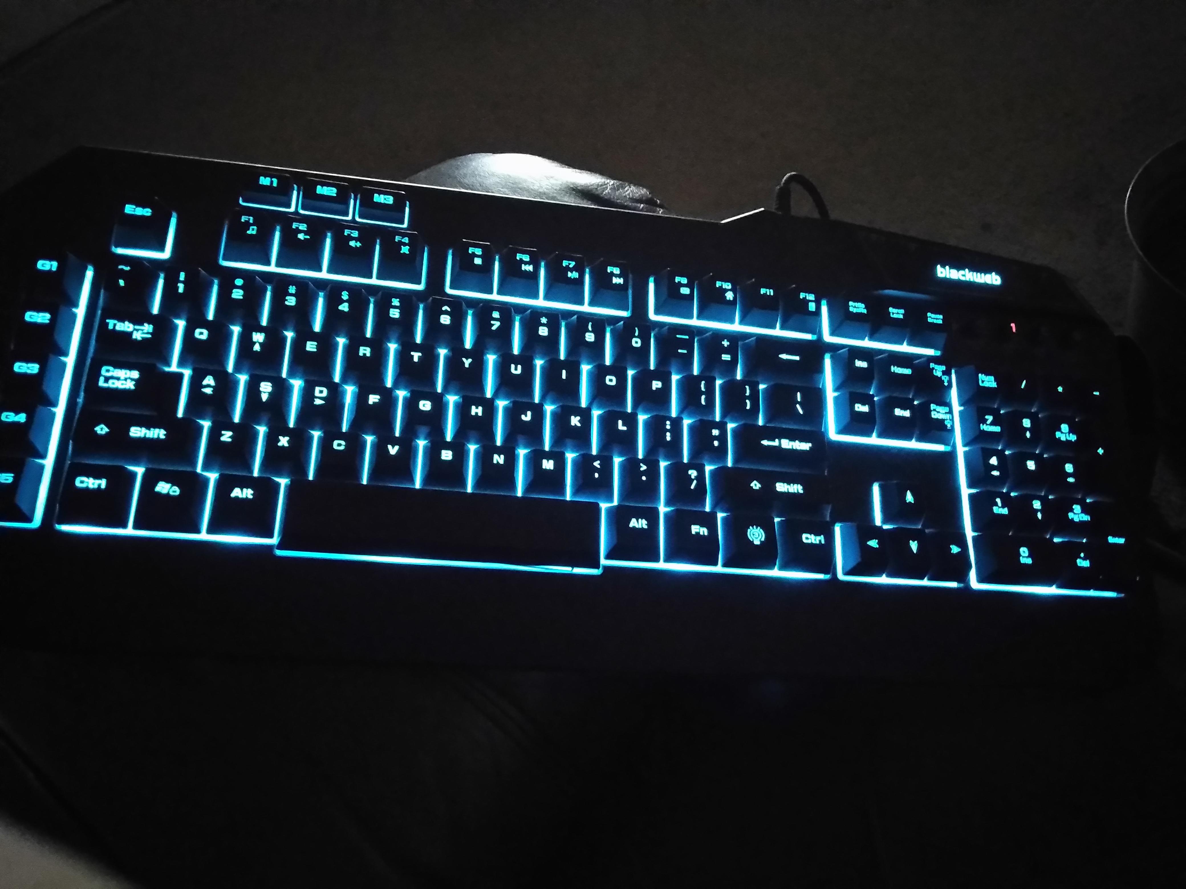 Blackweb Gaming Keyboard