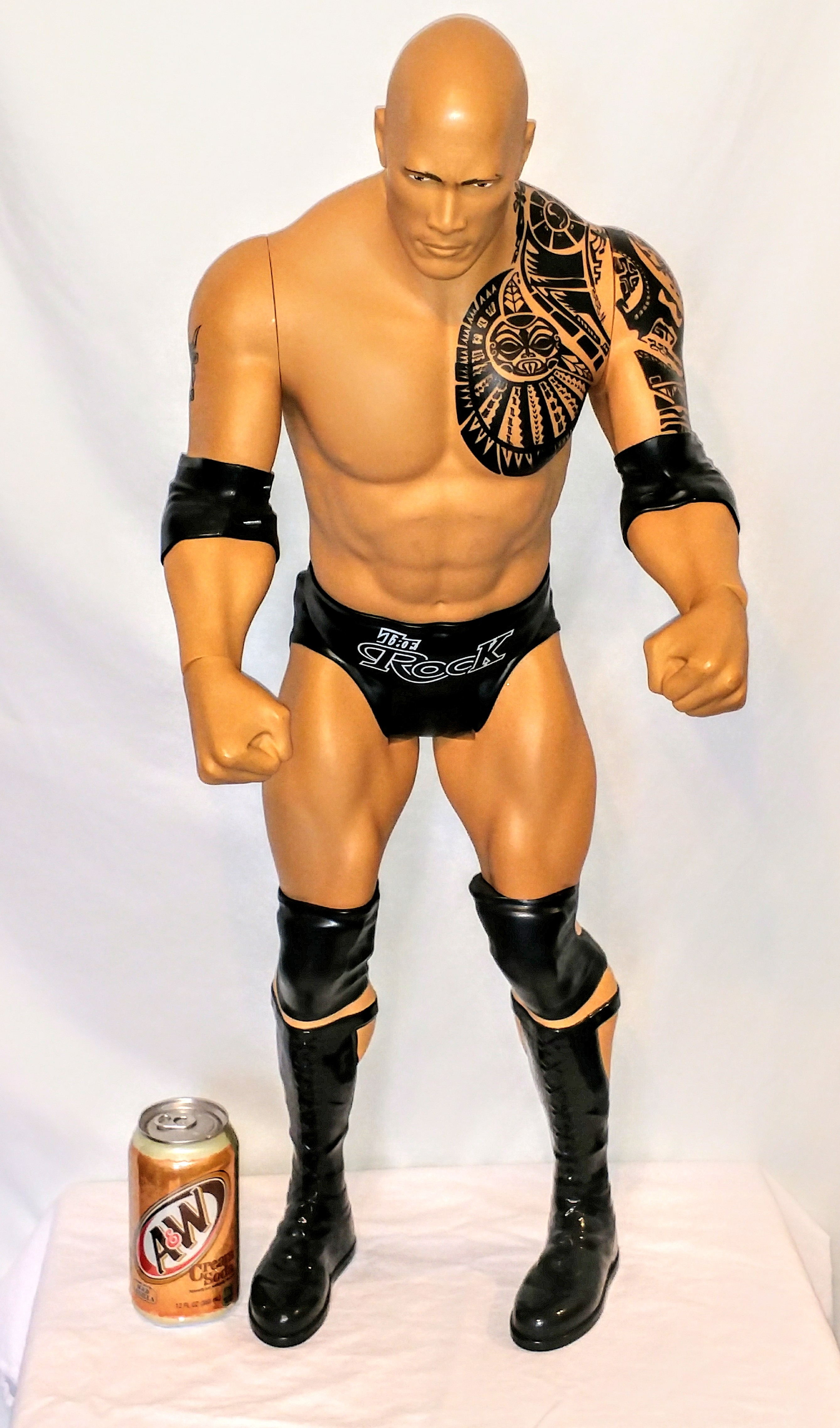 """WWE 31"""" The Rock Giant Size Action Figure"""