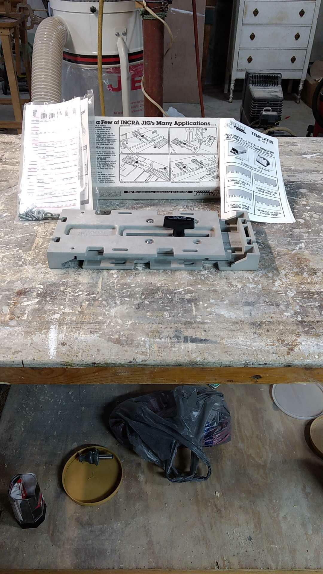 Incra presicion woodworking plus jig
