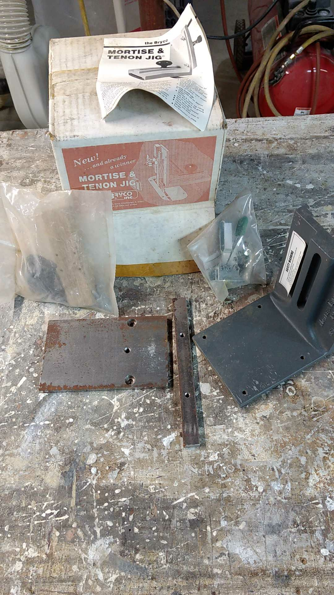 Woodworking Mortise and Tenon jig