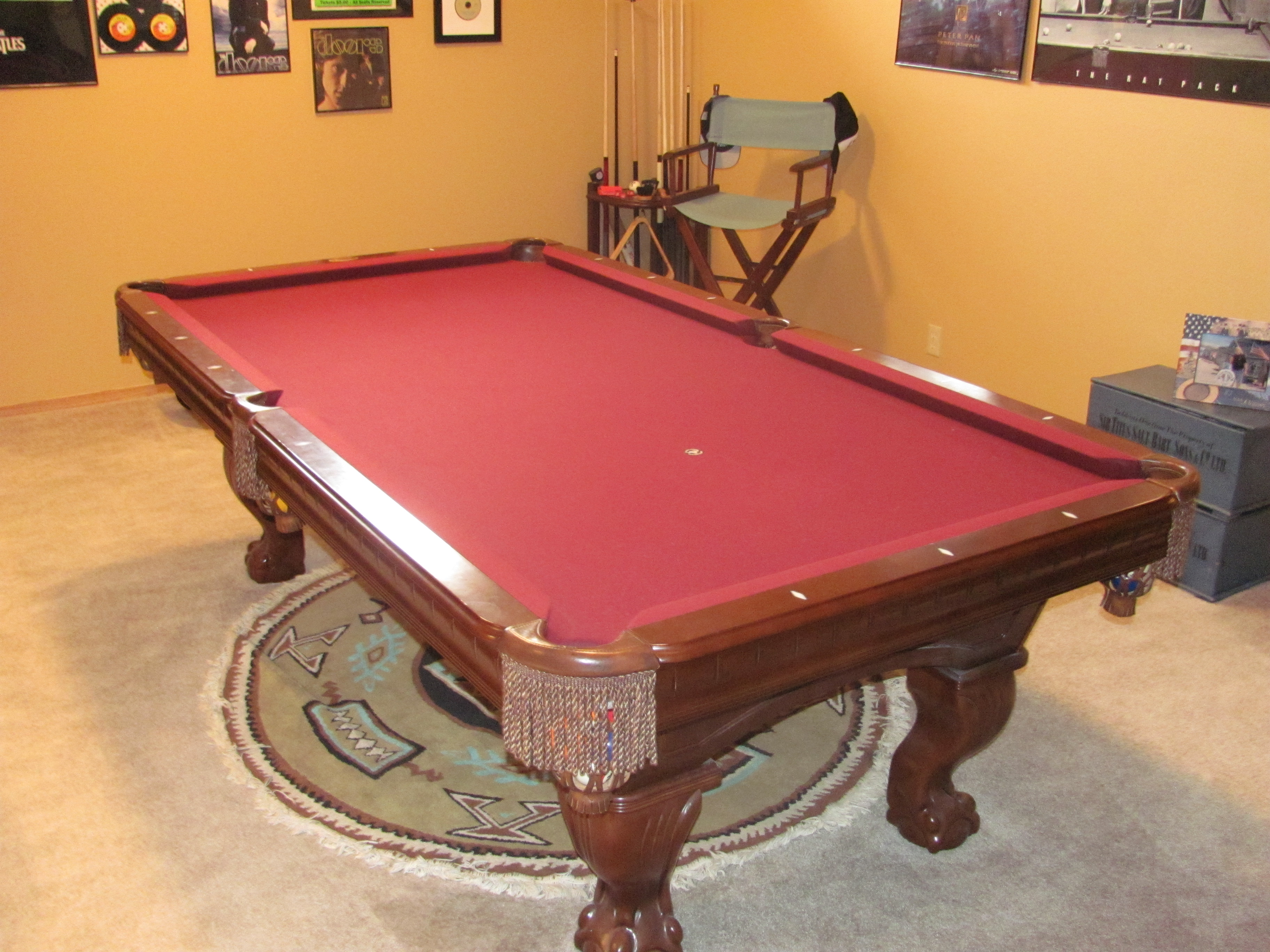 Winners choice pool table /Best offer will be considered