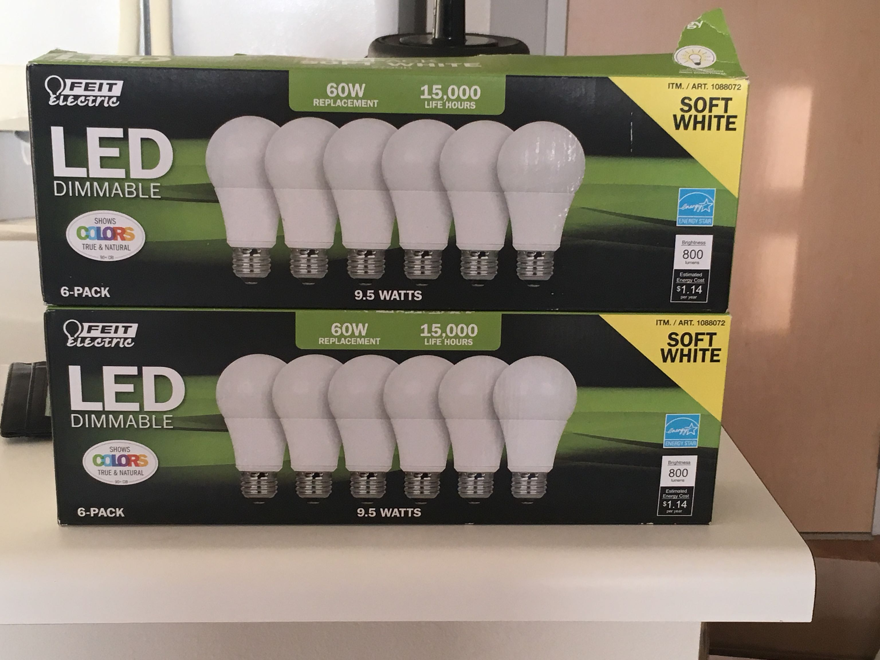 LED Soft White Lights