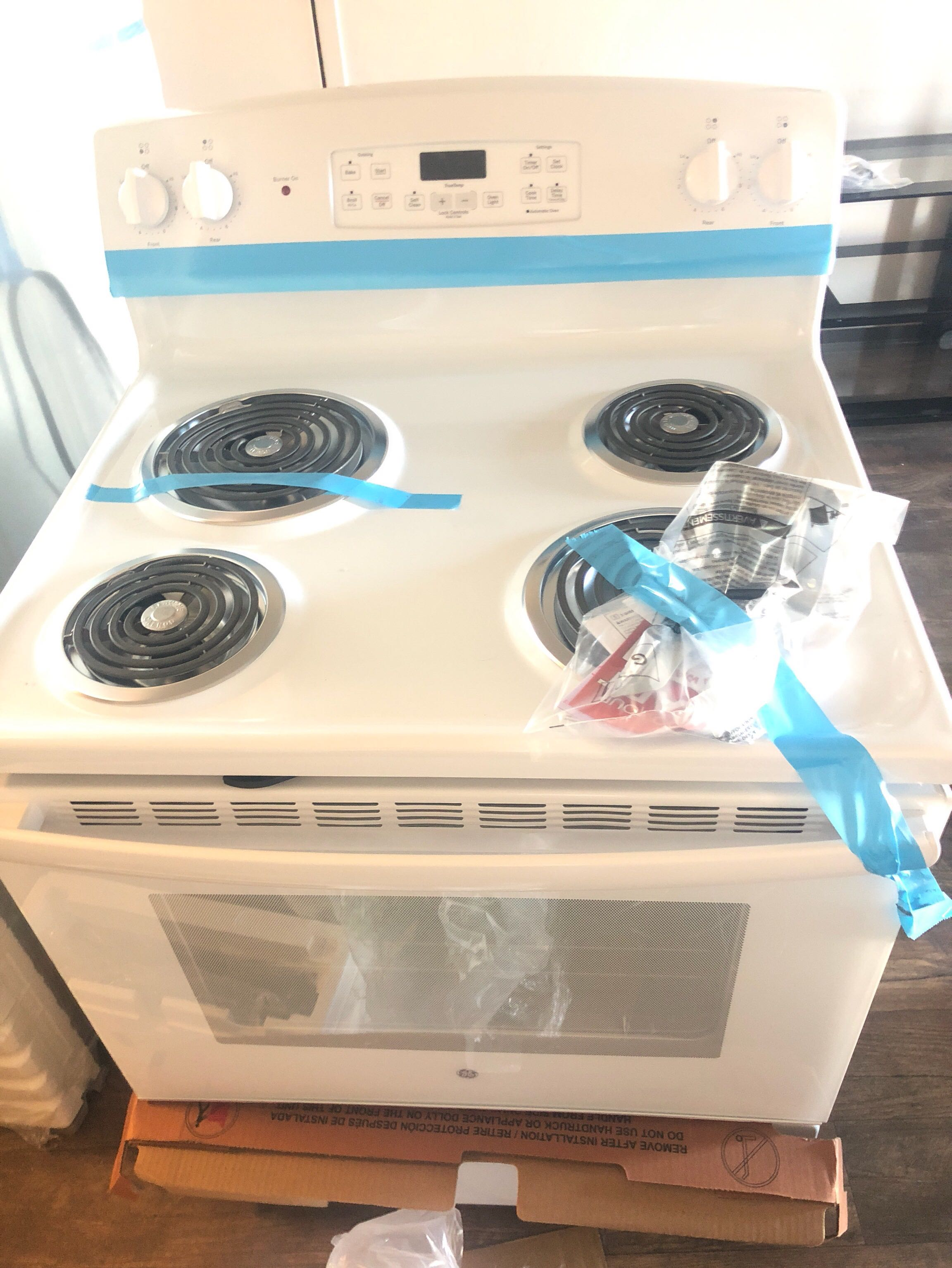 Range electric stove