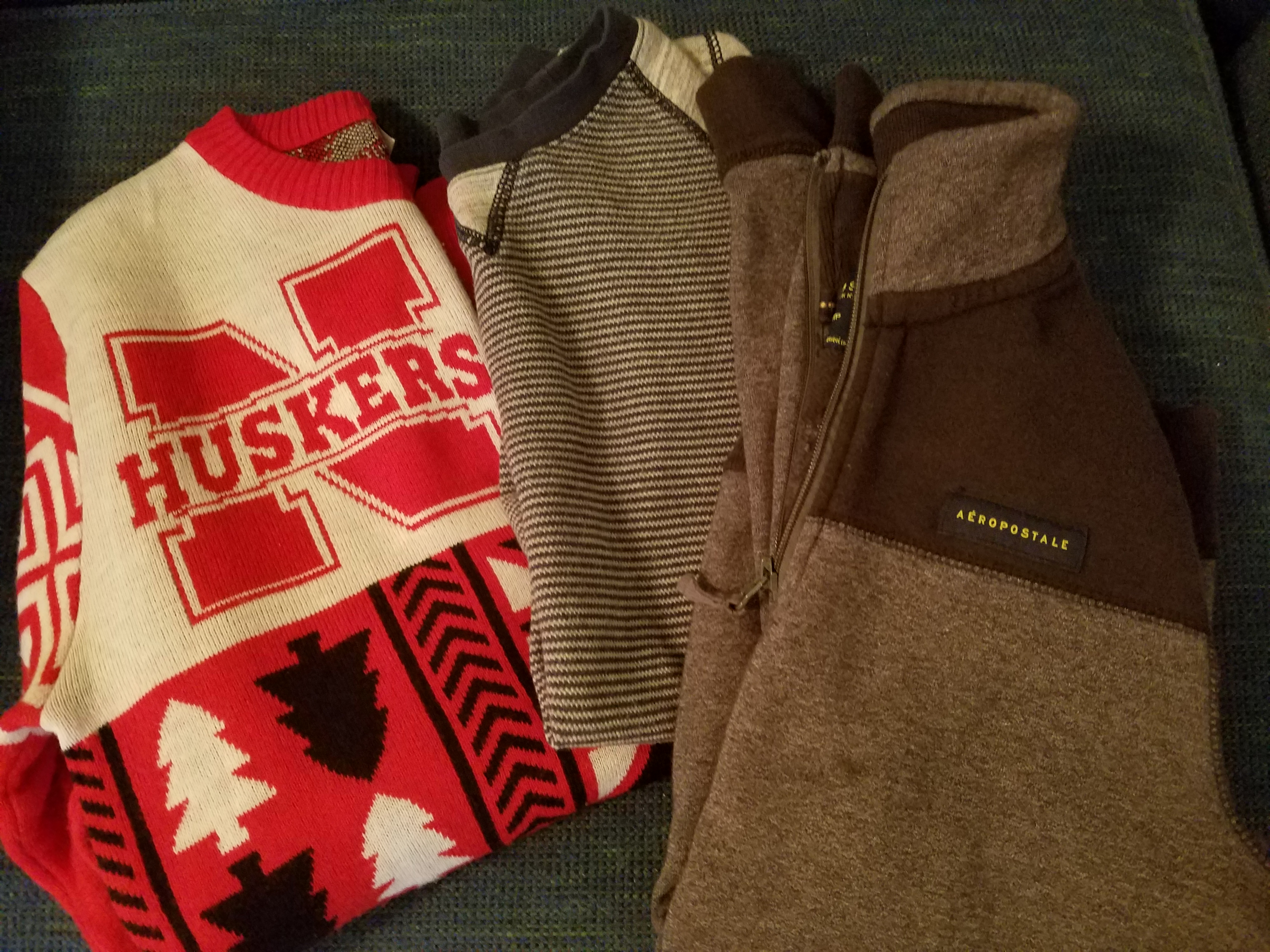 3 Mens S or teen boy sweaters