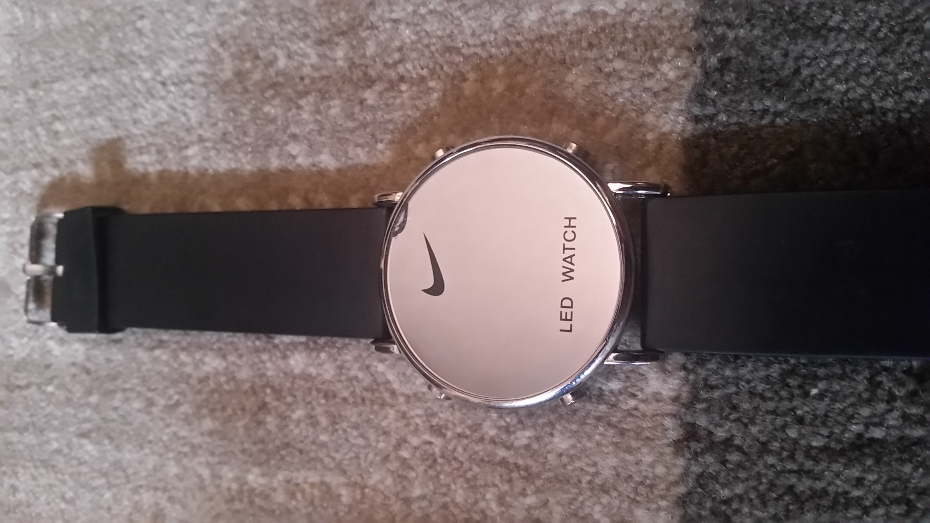 W Mega Find more Euc - Men's Nike Led Watch for sale at up to 90% off MJ73