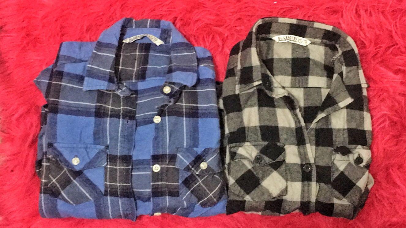2 Plaid Shirts