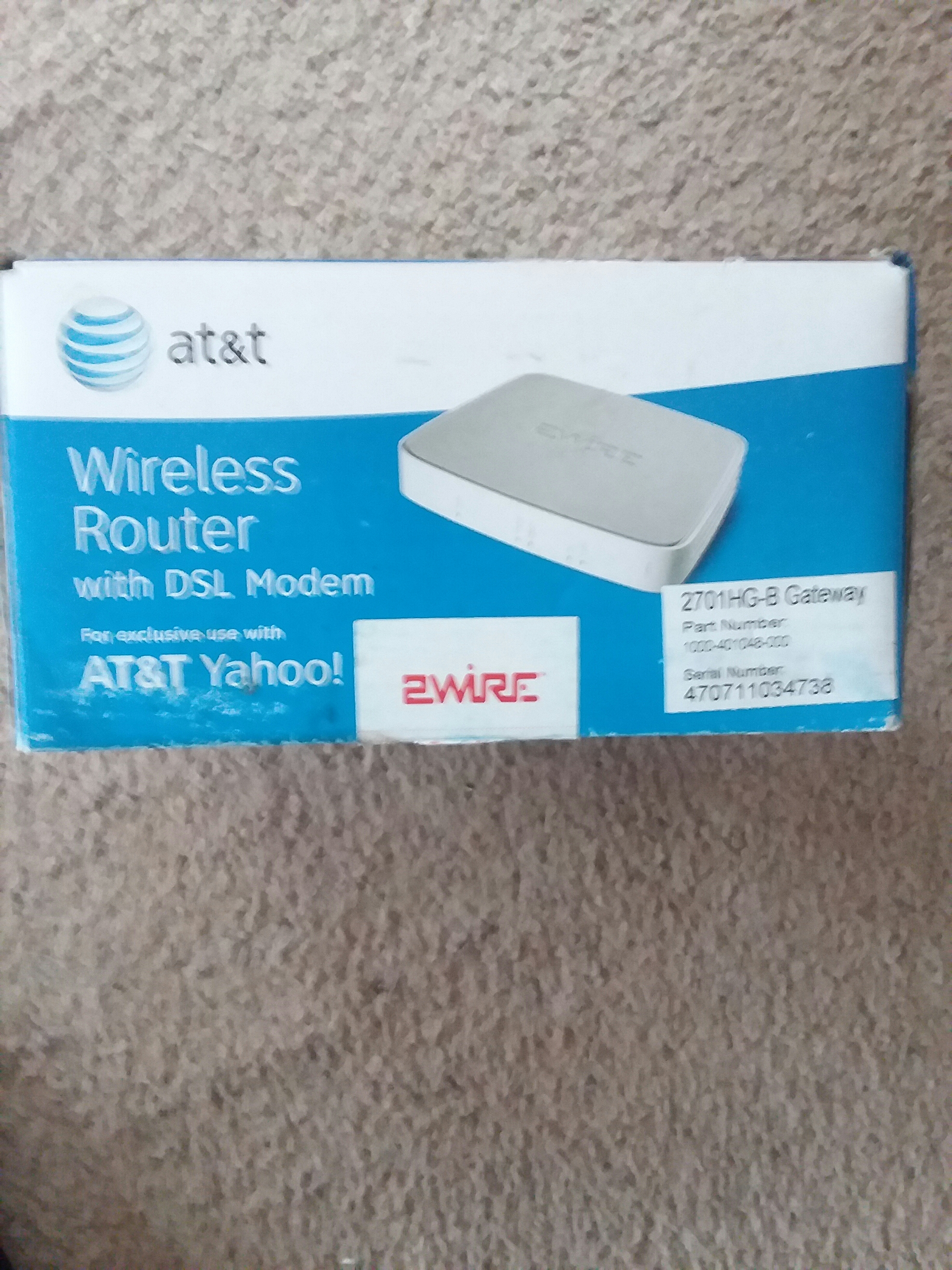 AT&T Wireless Router
