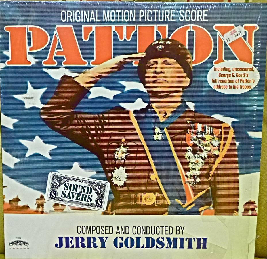 PATTON SOUNDTRACK LP NM US JERRY GOLDSMITH MOVIE SCORE 1970 - $5 (Bethesda