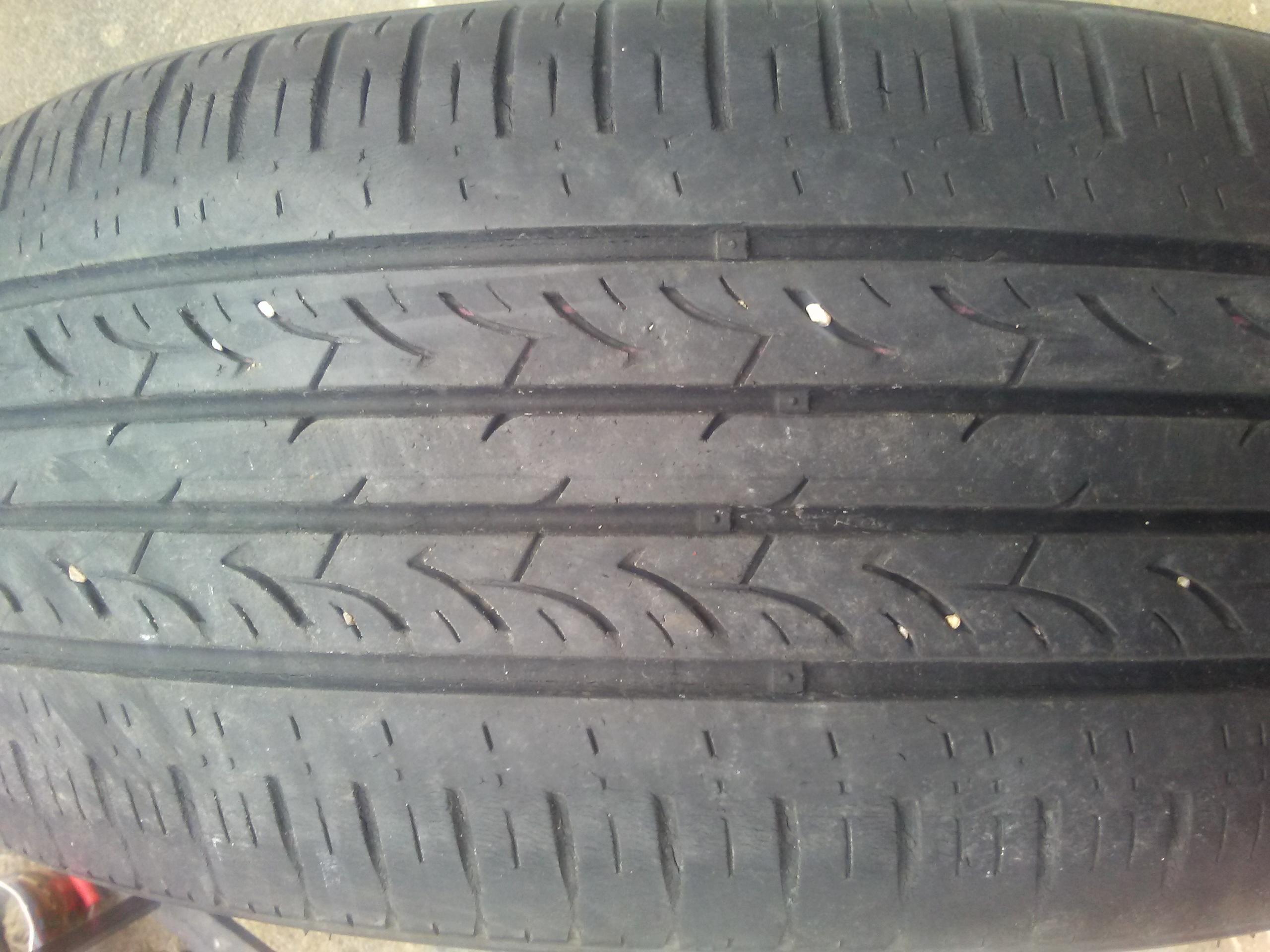 2 Tires.215 55 17