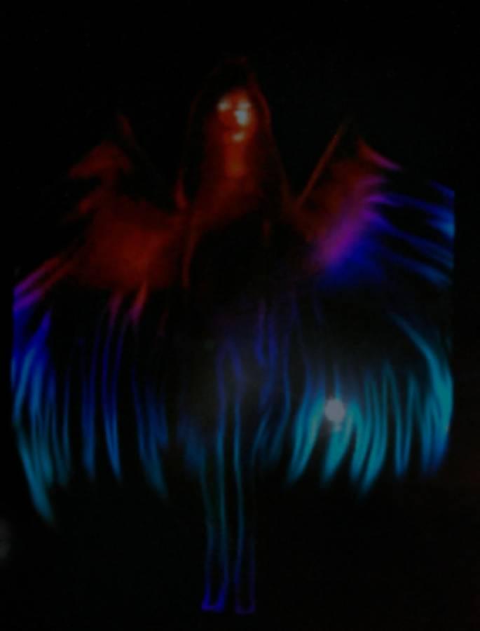 The Darkest Angel framed art print