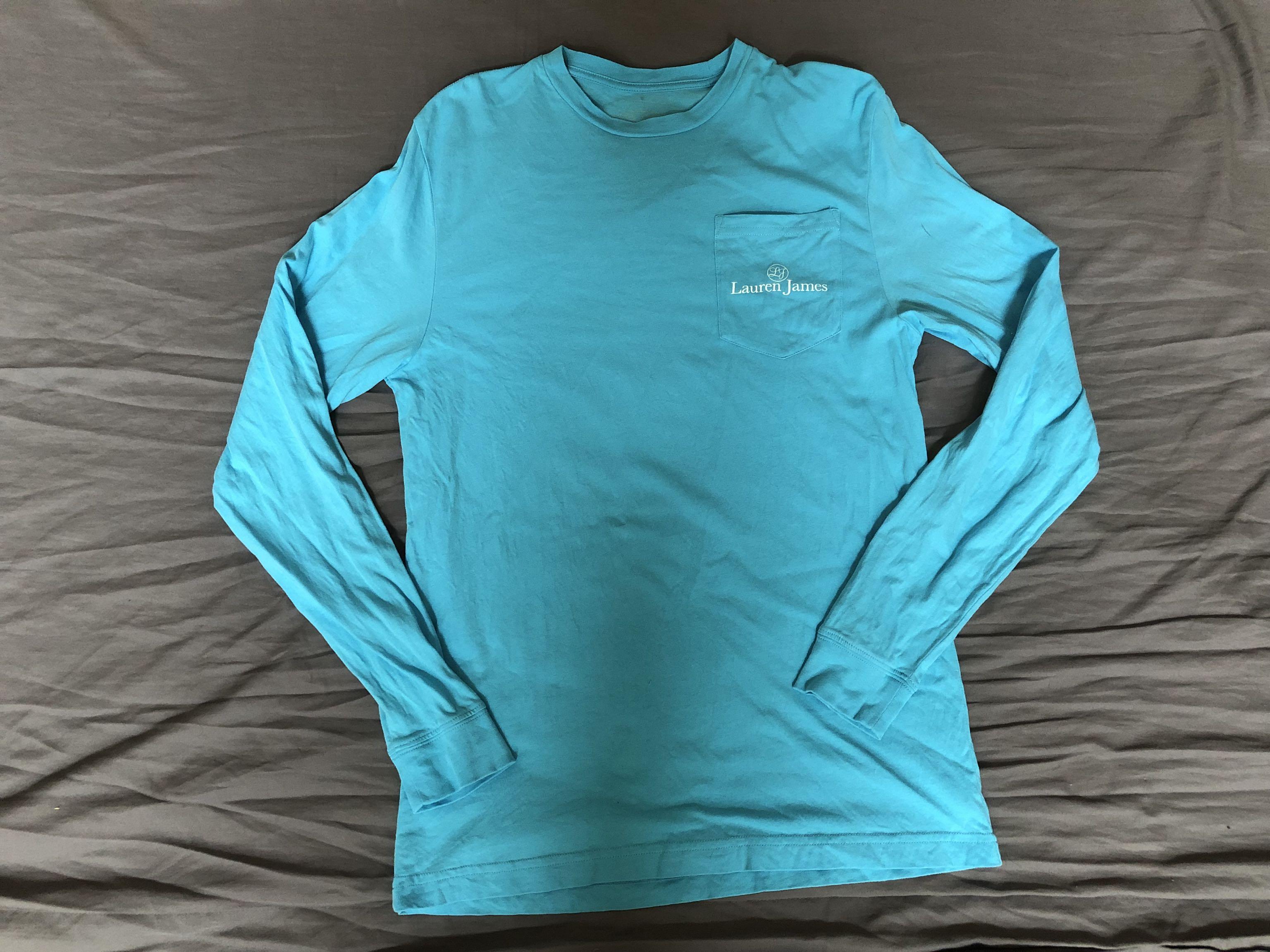 Lauren James long sleeve t shirt - gently worn - small