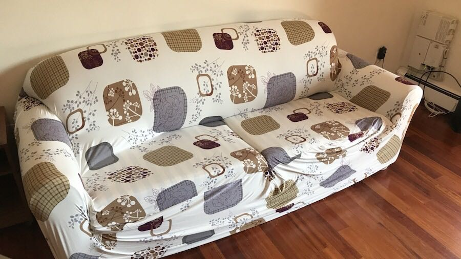 sleeper sofa with new cover